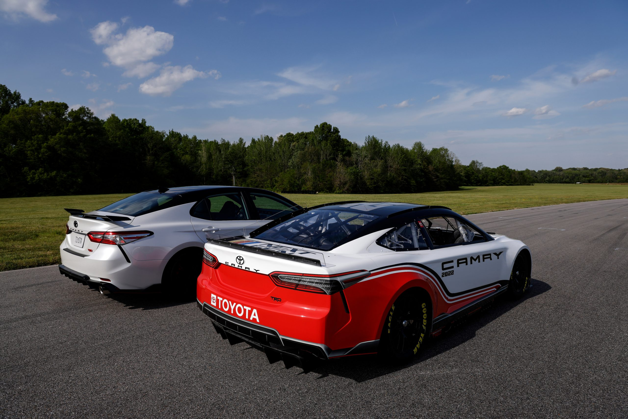 NASCAR Toyota Stock car camry rear