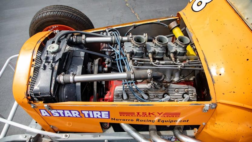 Track Roadster Mecum Engine