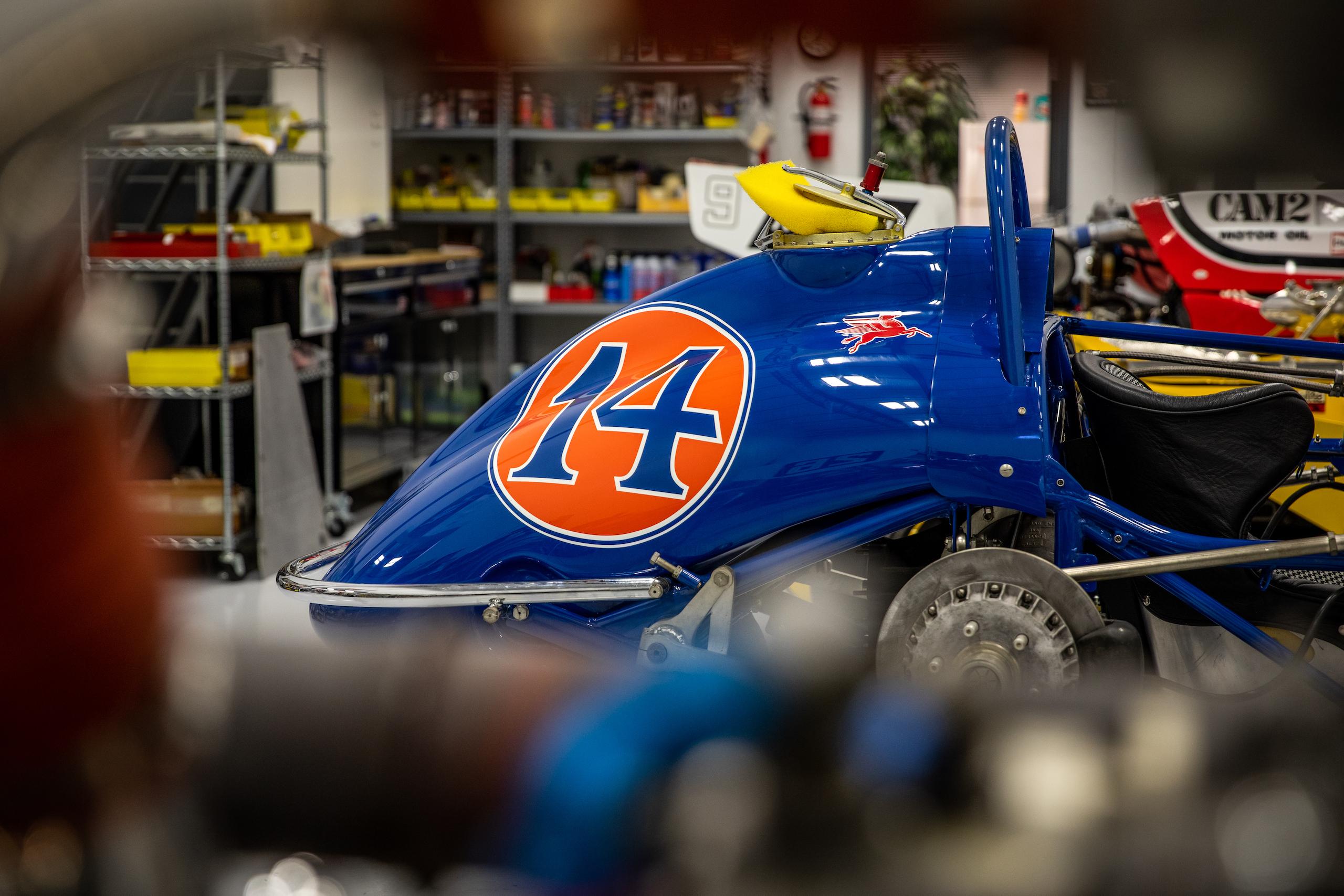 Turn 4 Restorations blue racer