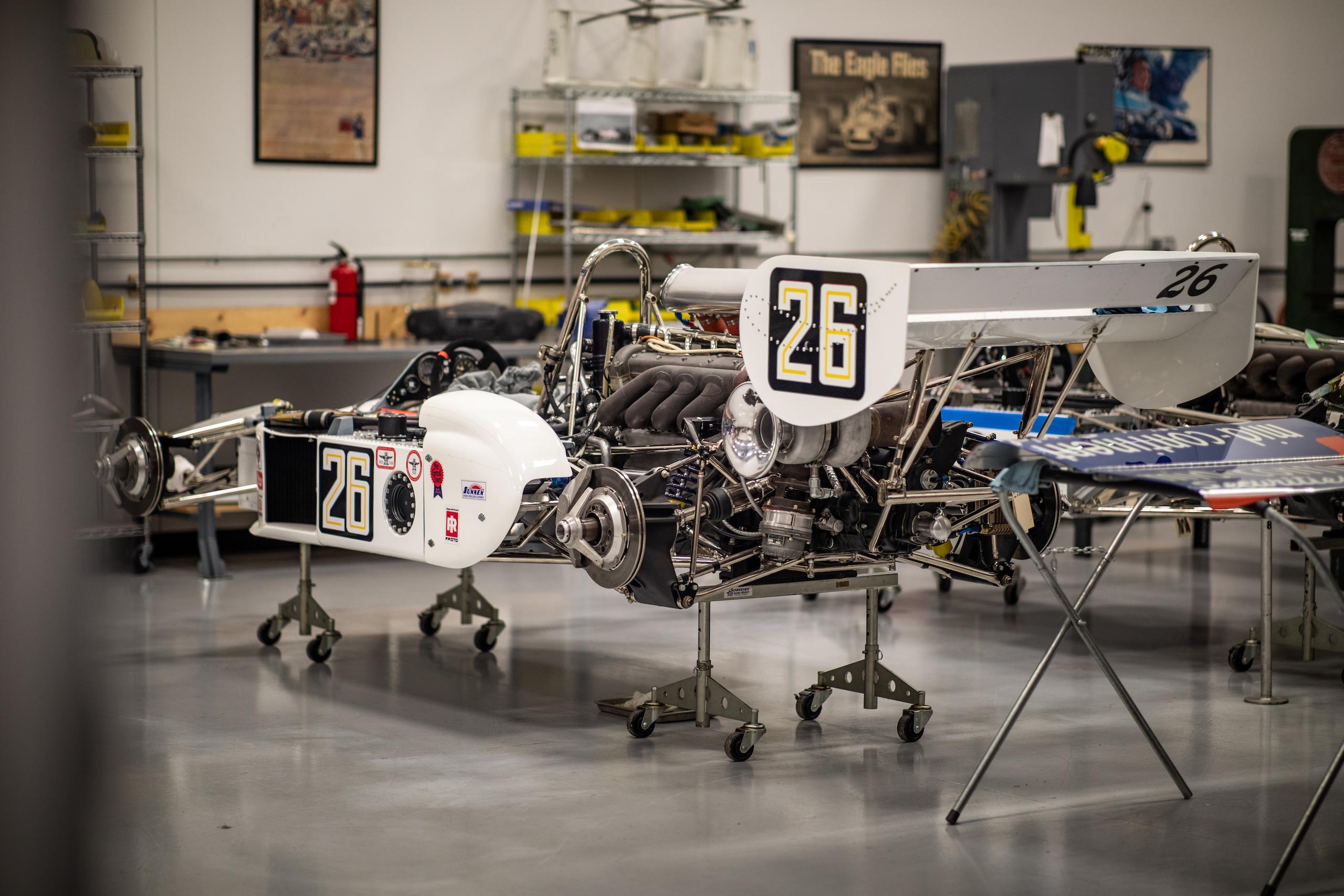 Turn 4 Restorations white racer