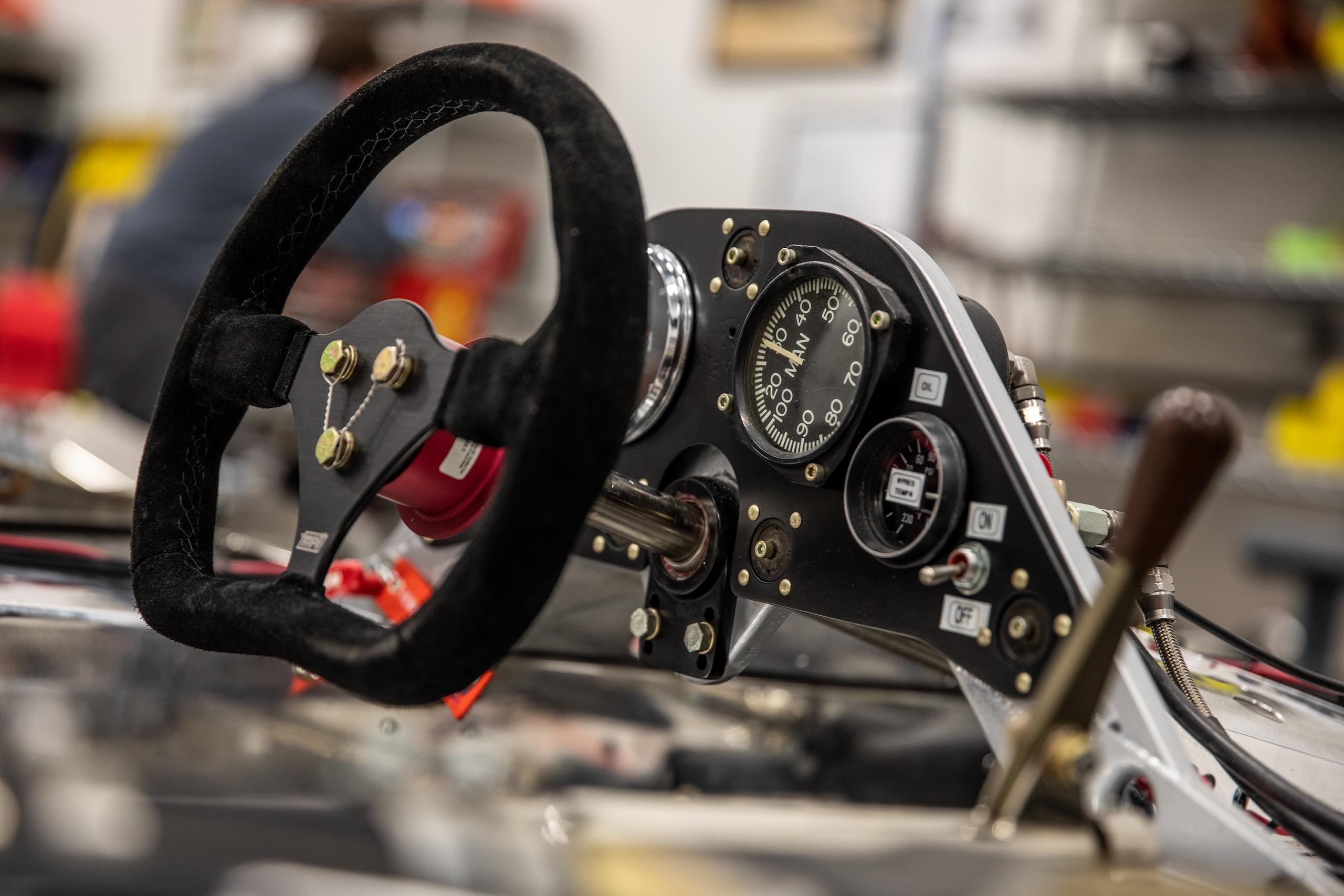 Turn 4 Restorations steering wheel gauges