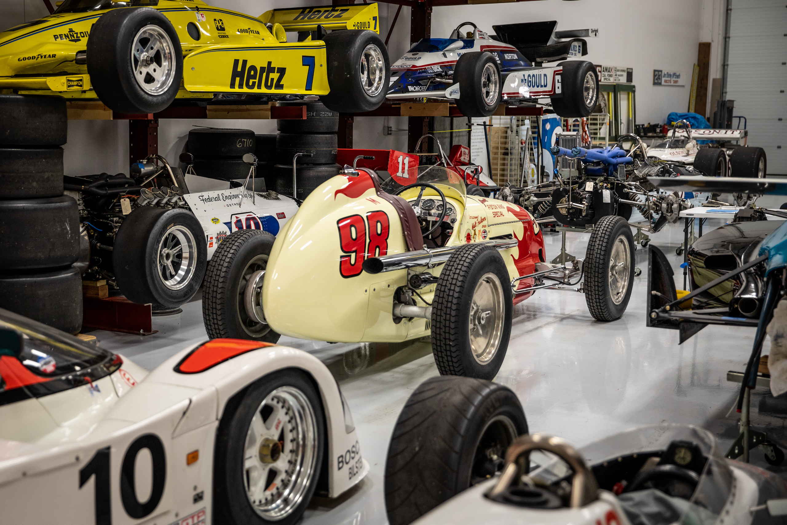 Turn 4 Restorations race cars