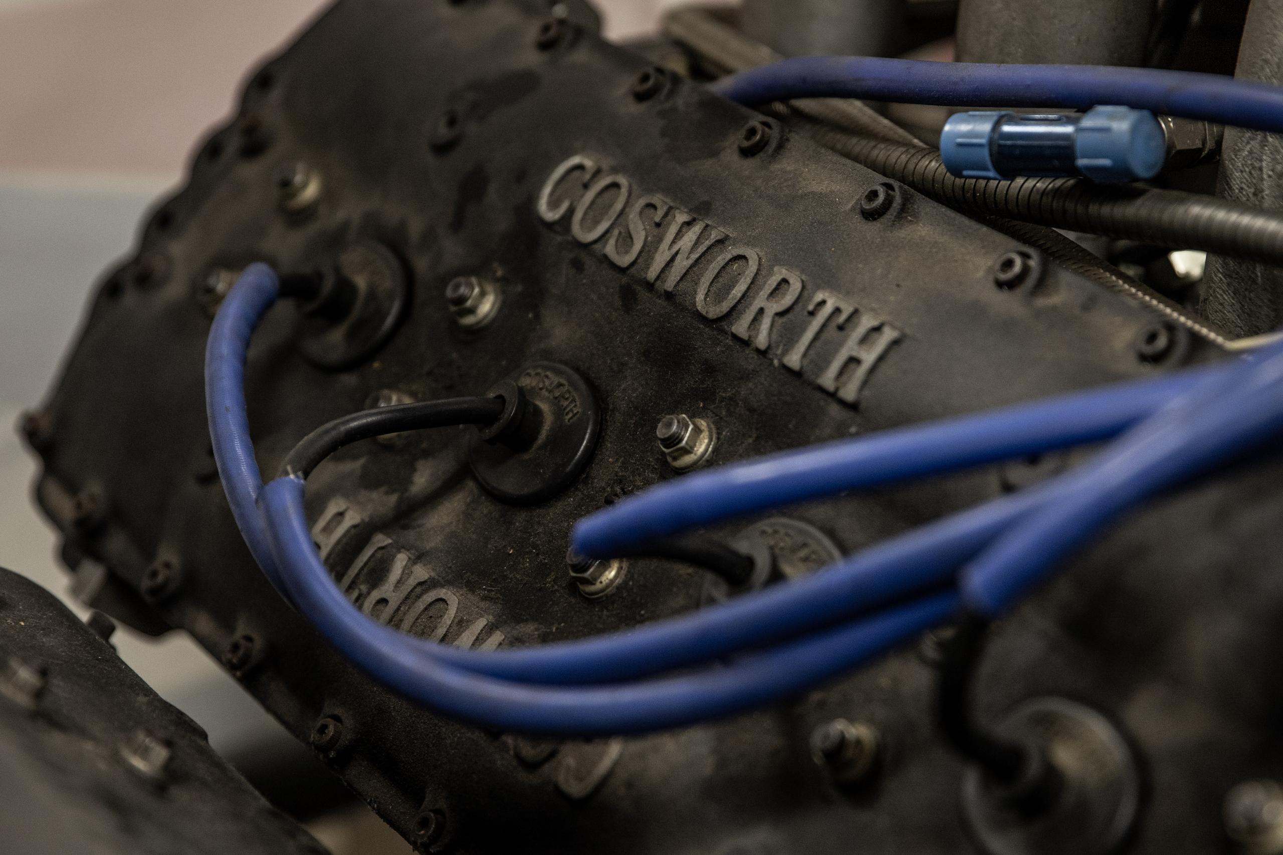 Turn 4 Restorations engine cosworth