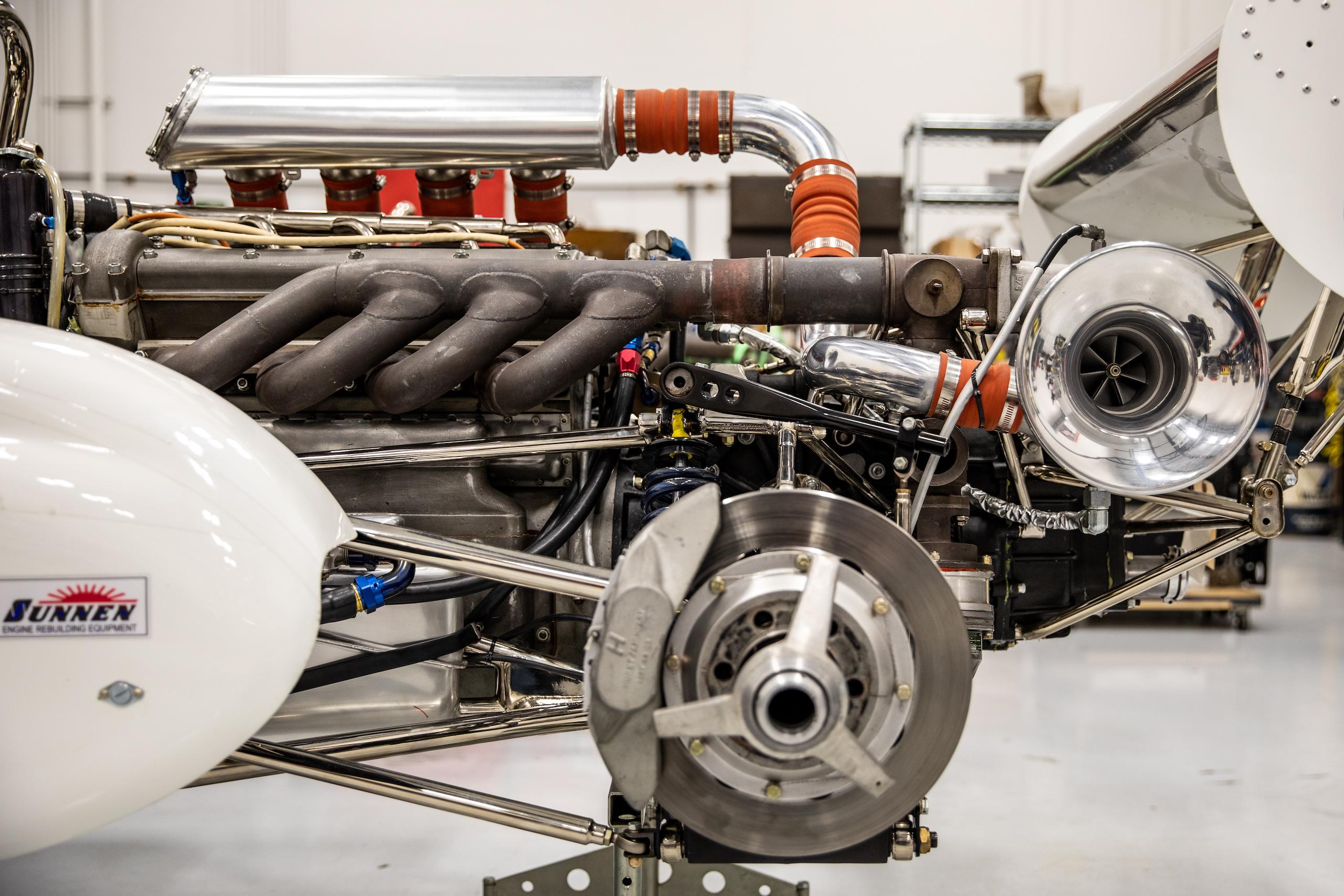 Turn 4 Restorations engine