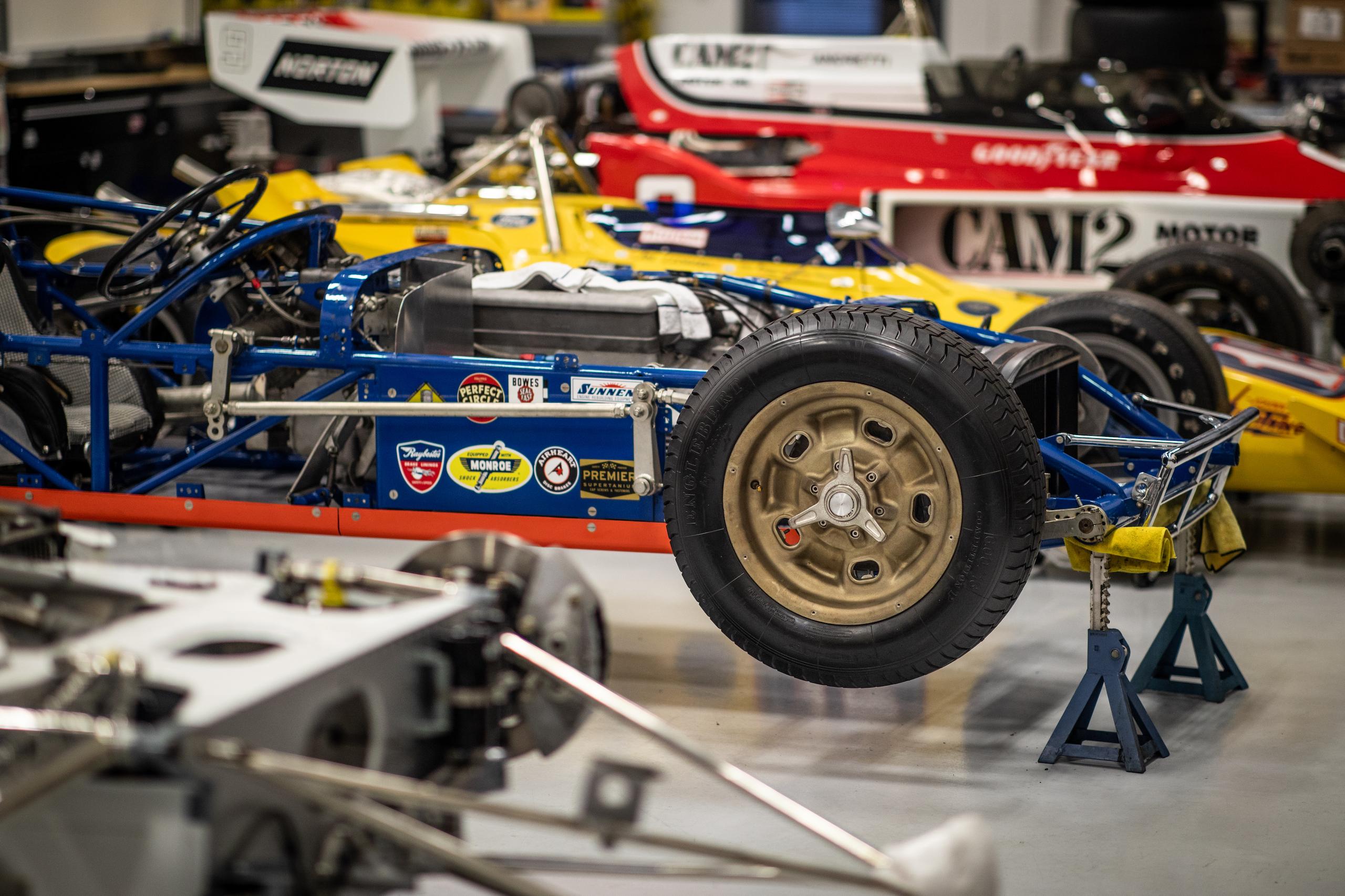 Turn 4 Restorations racers