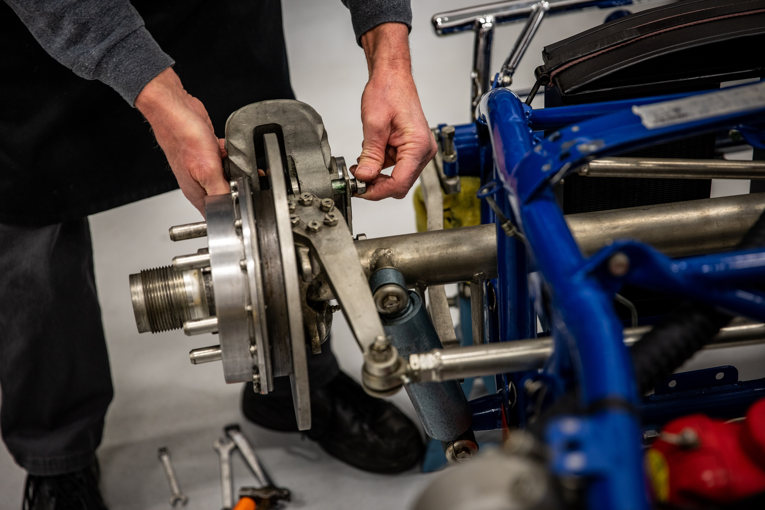 Turn 4 Restorations brakes