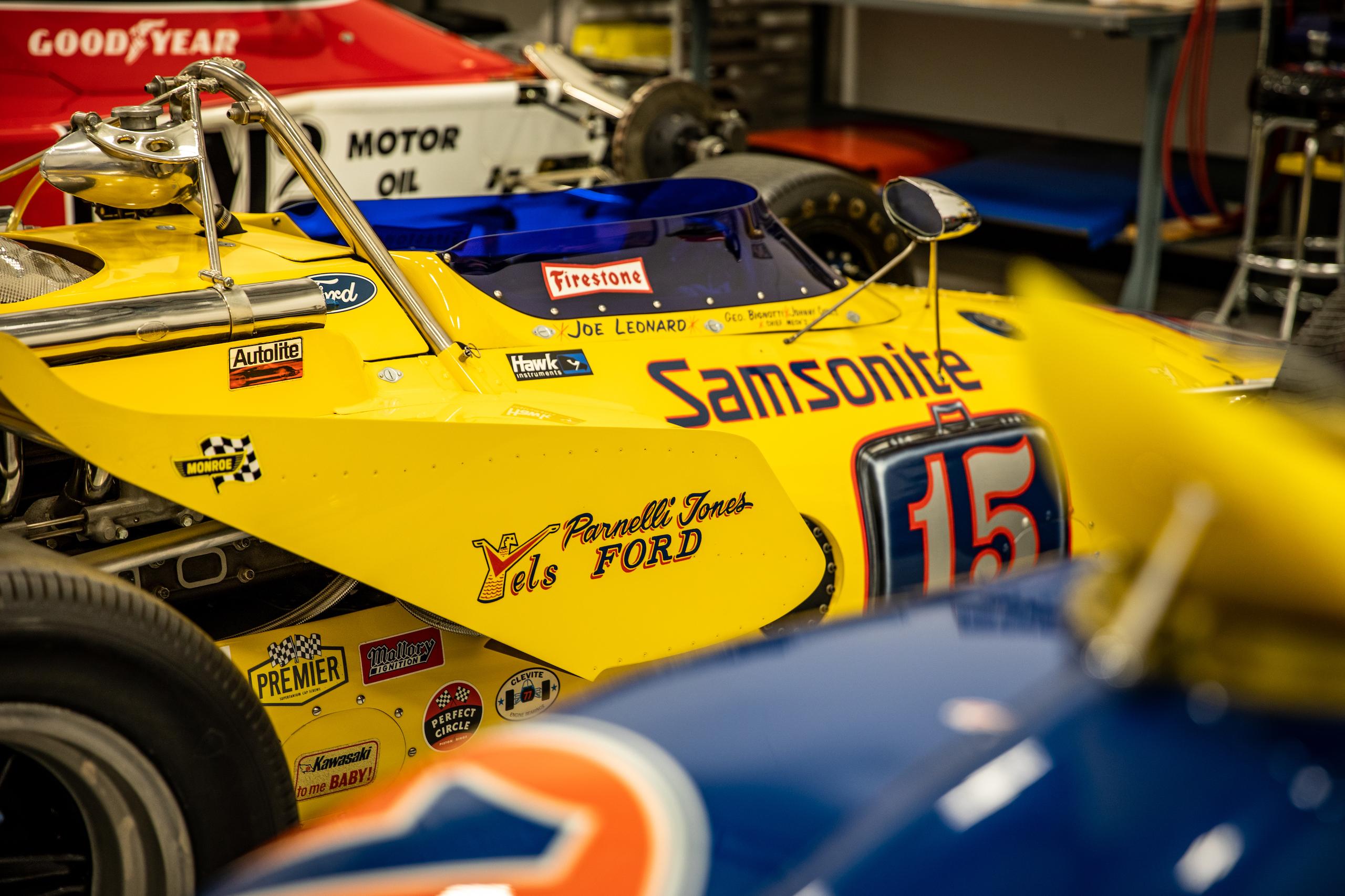 Turn 4 Restorations yellow racer
