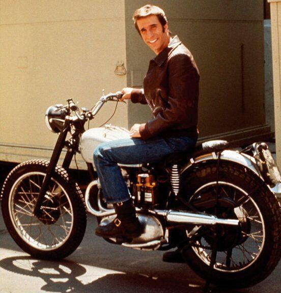 Henry Winkler Triumph TR5 500 Motorcycle