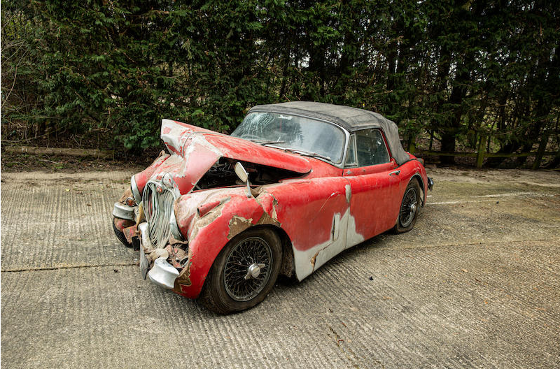 Jaguar XK150 wreck Bonhams 4