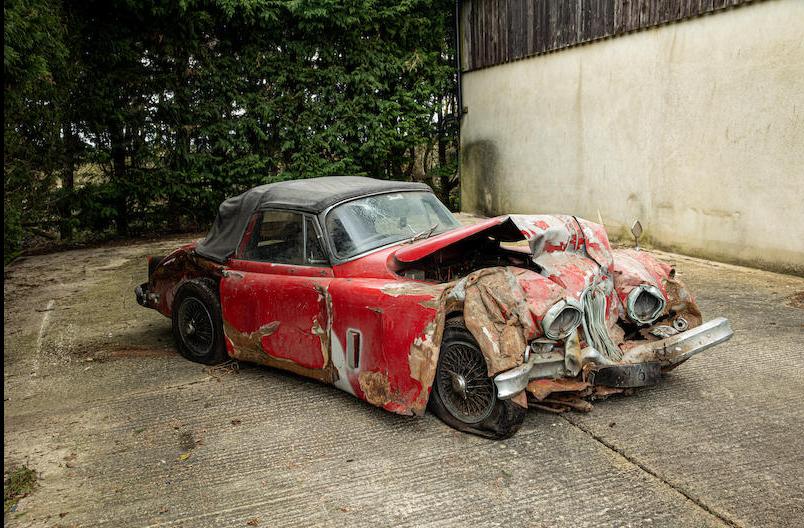 Jaguar XK150 wreck Bonhams 5