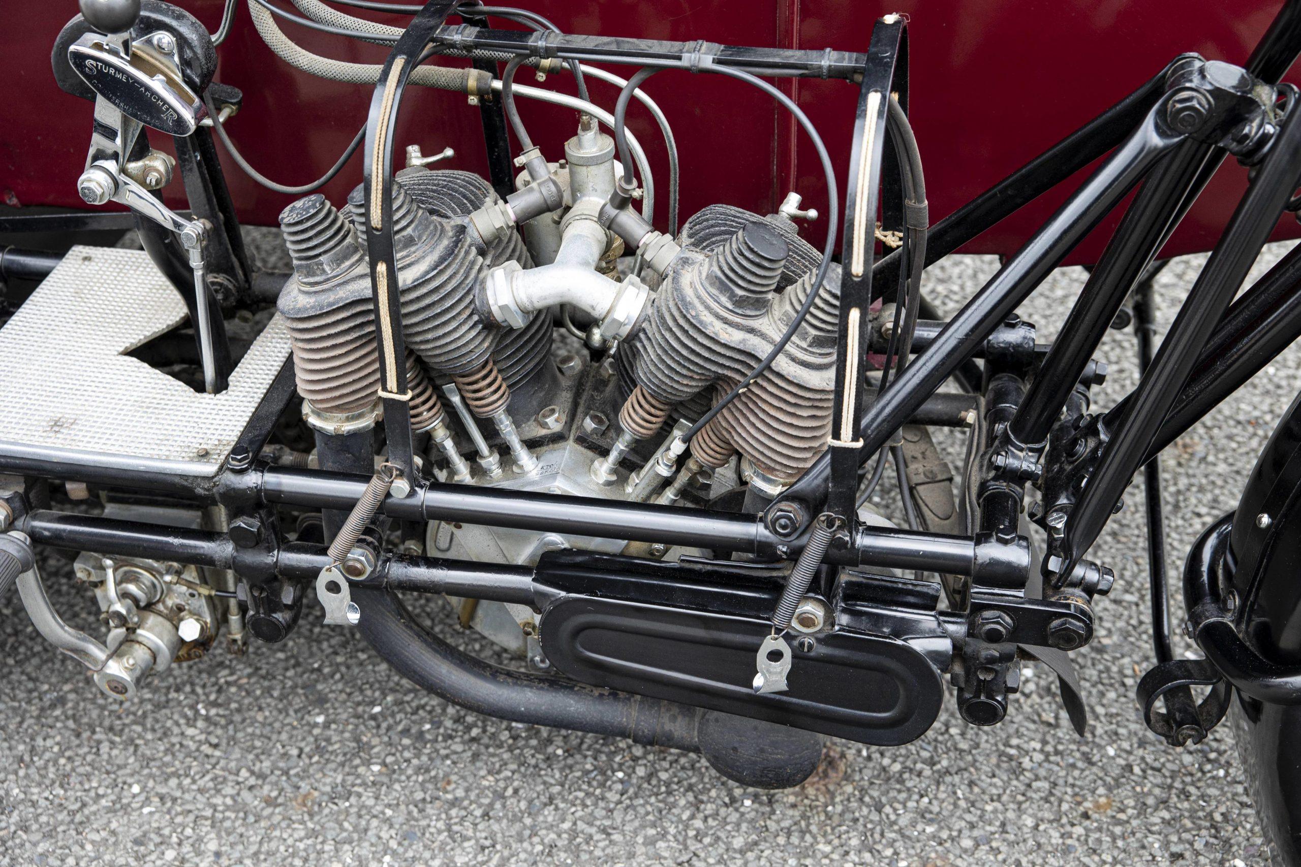1925 Seal 980CC Motorcycle engine