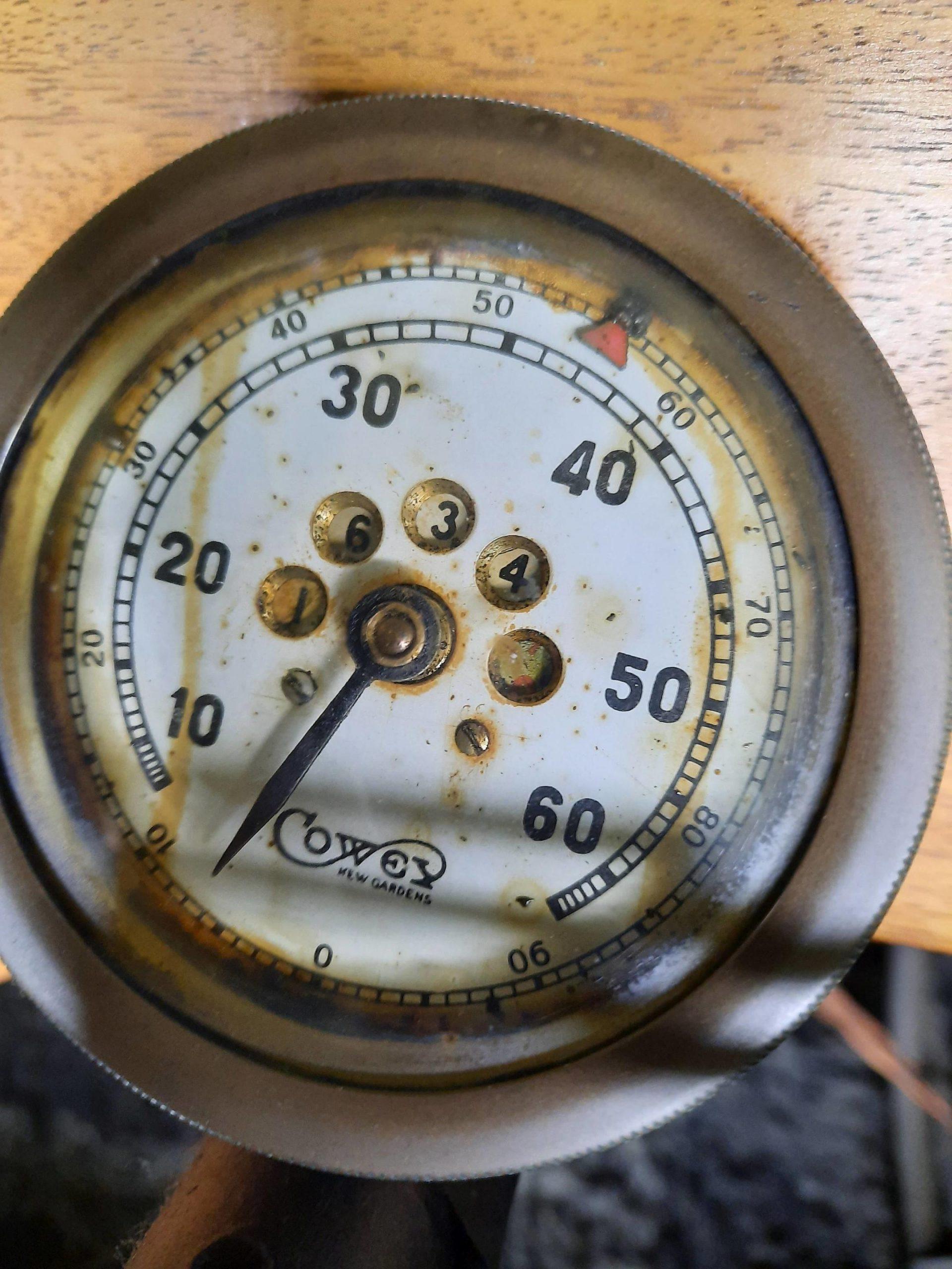 1925 Seal 980CC Motorcycle gauge