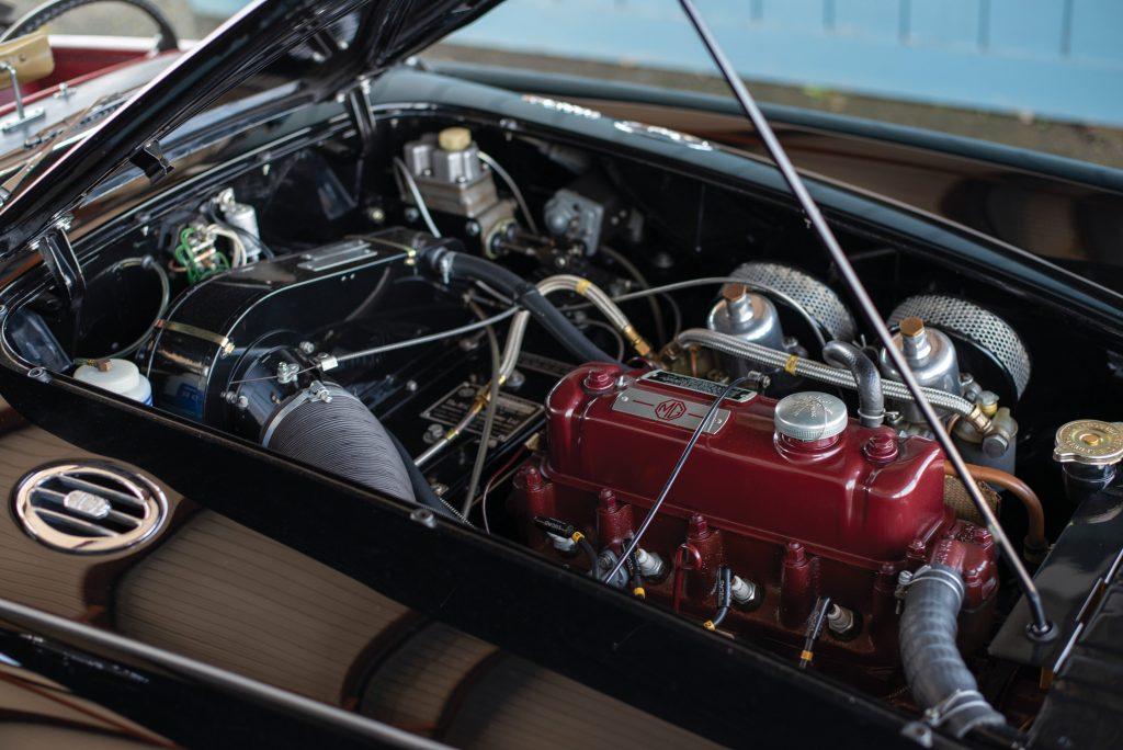 1962 MG MGA engine