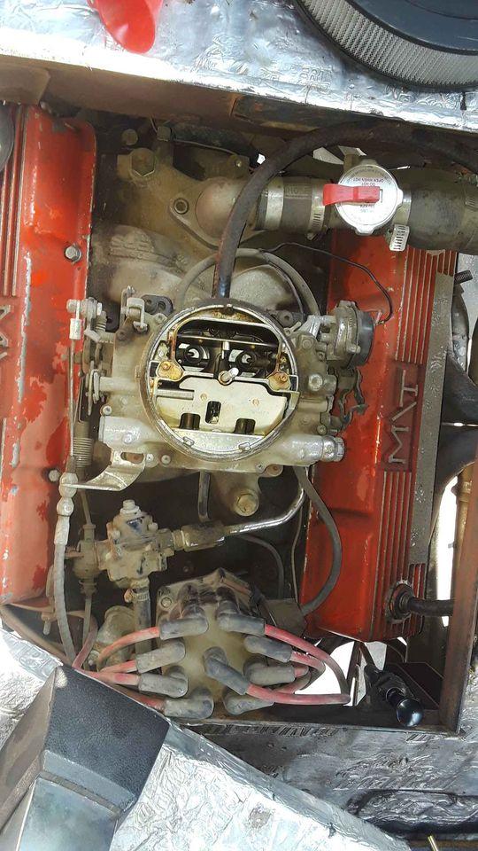 1964 Chevrolet G-20 engine