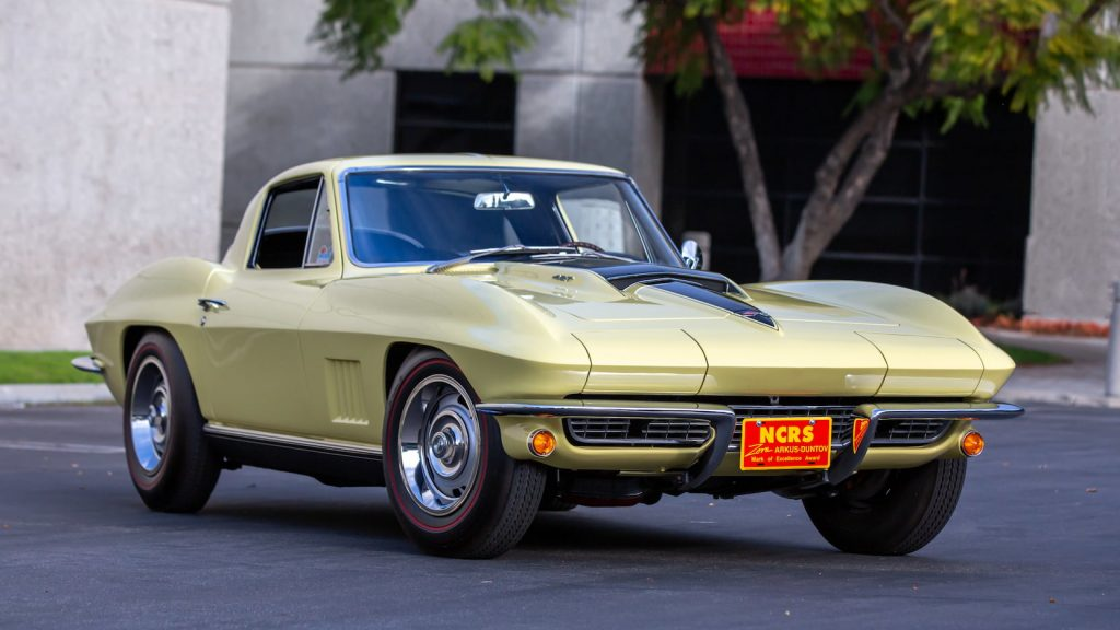 1967 Corvette Coupe L88 front three-quarter