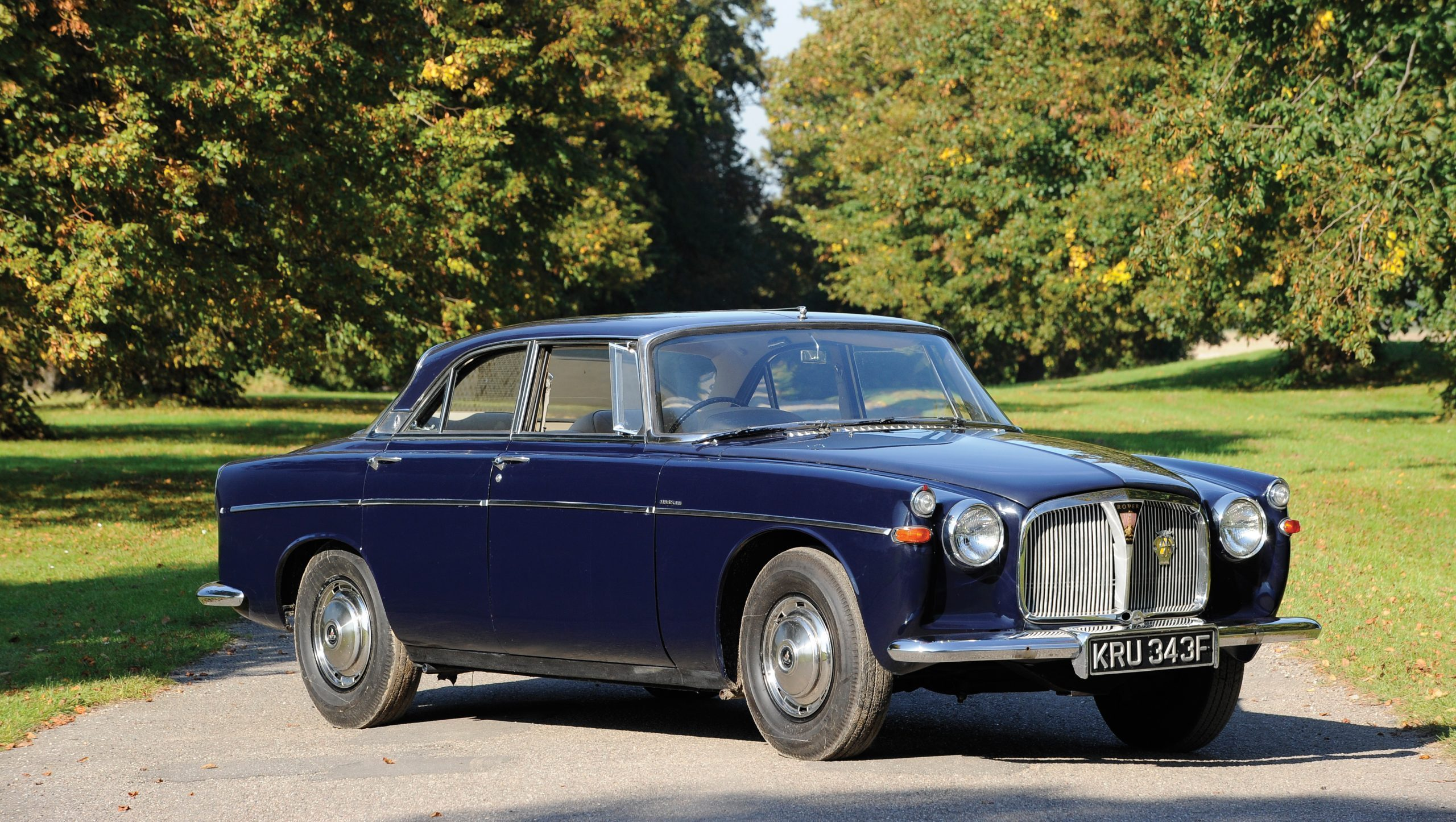 Rover-P5 Mark III Coupe front three-quarter