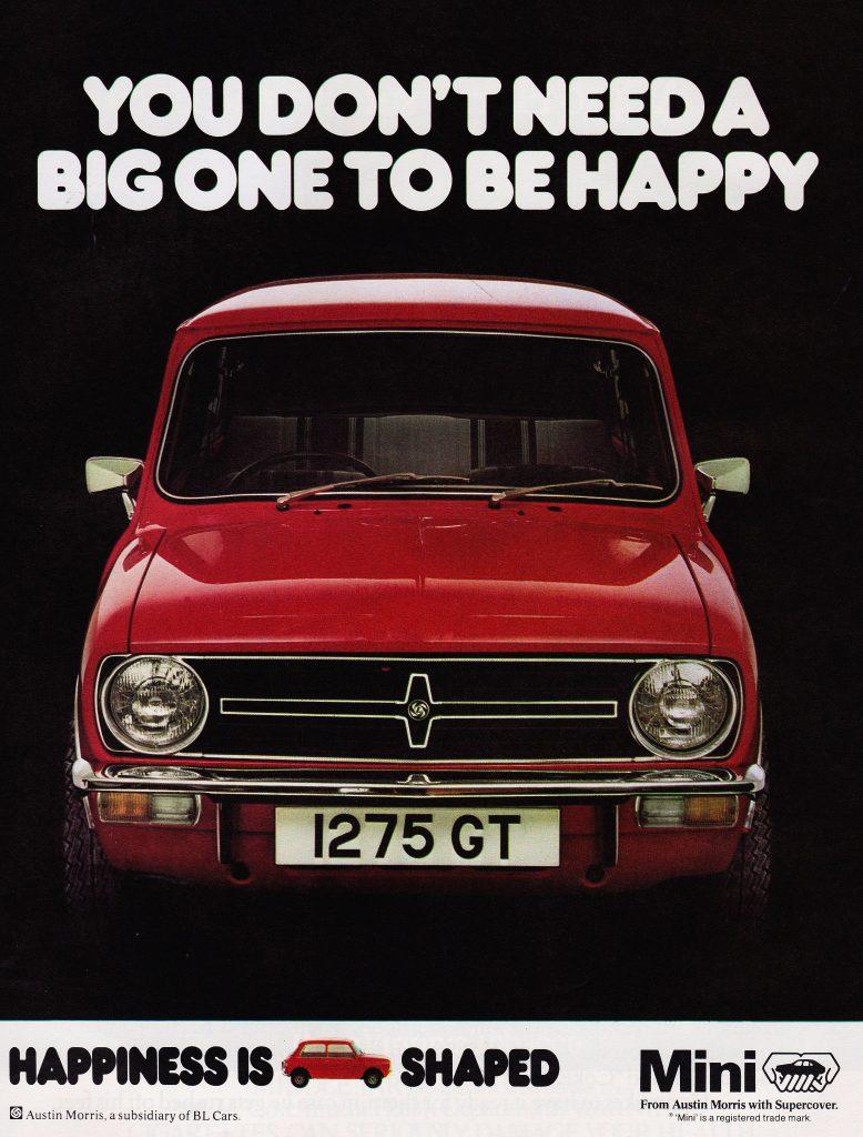Mini vintage ad