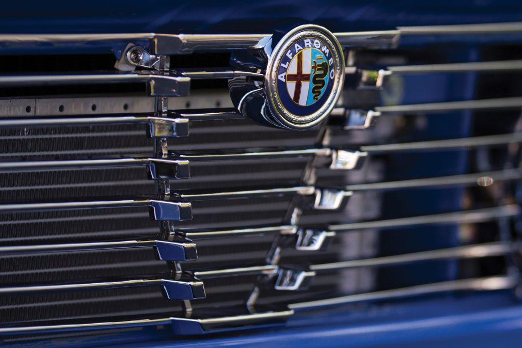 Alfa Romeo Grille Closeup