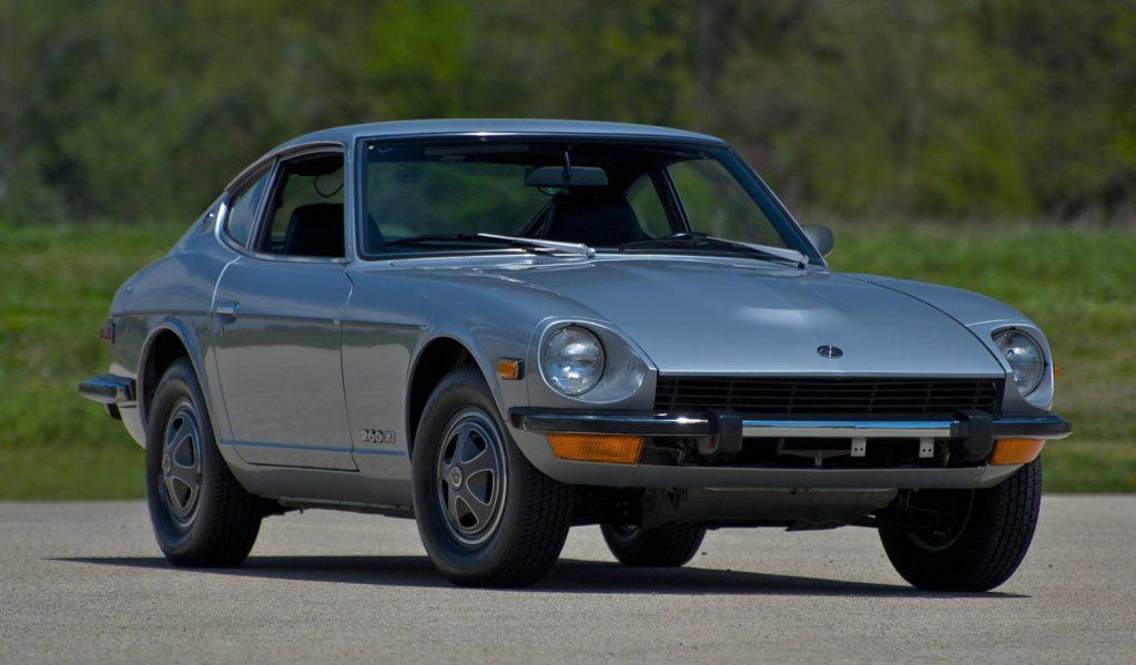 1974 Datsun 260Z Coupe front three-quarter
