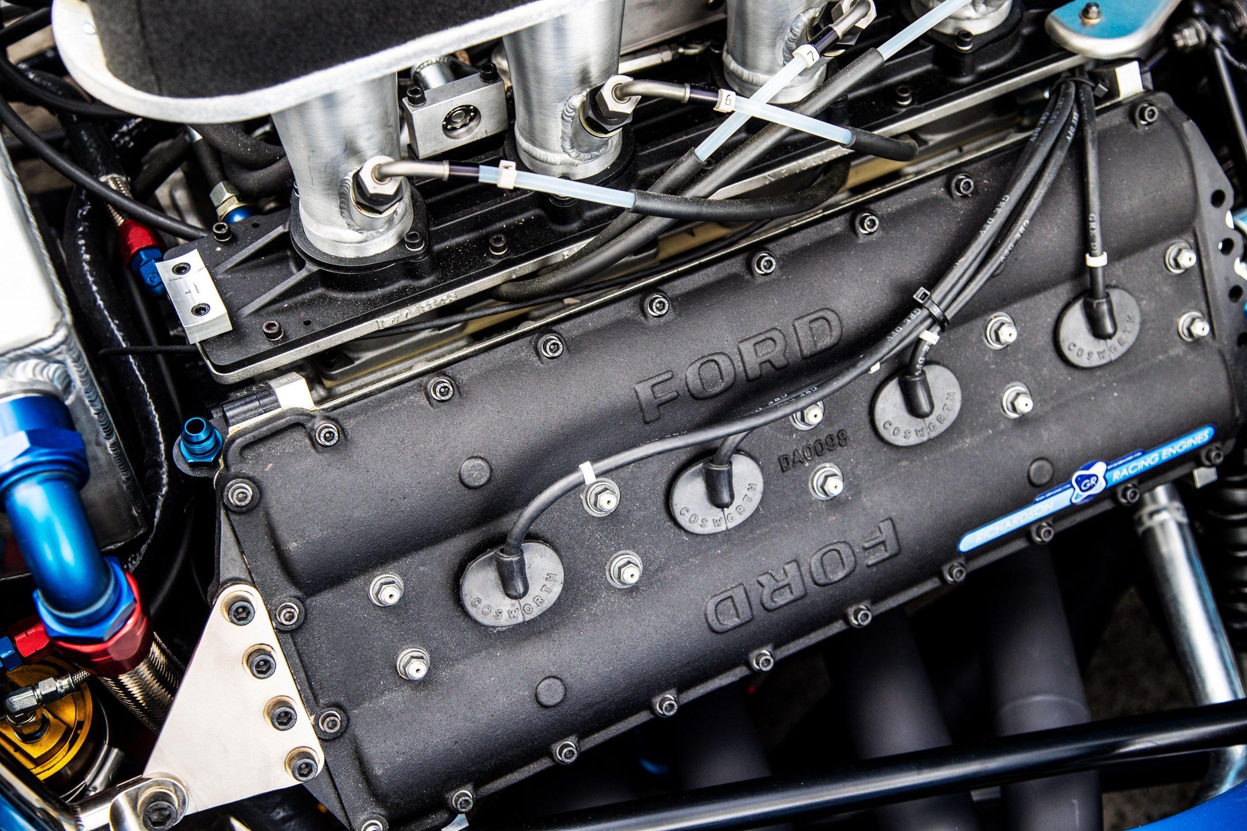 1976 TYRRELL P34 Continuation engine close
