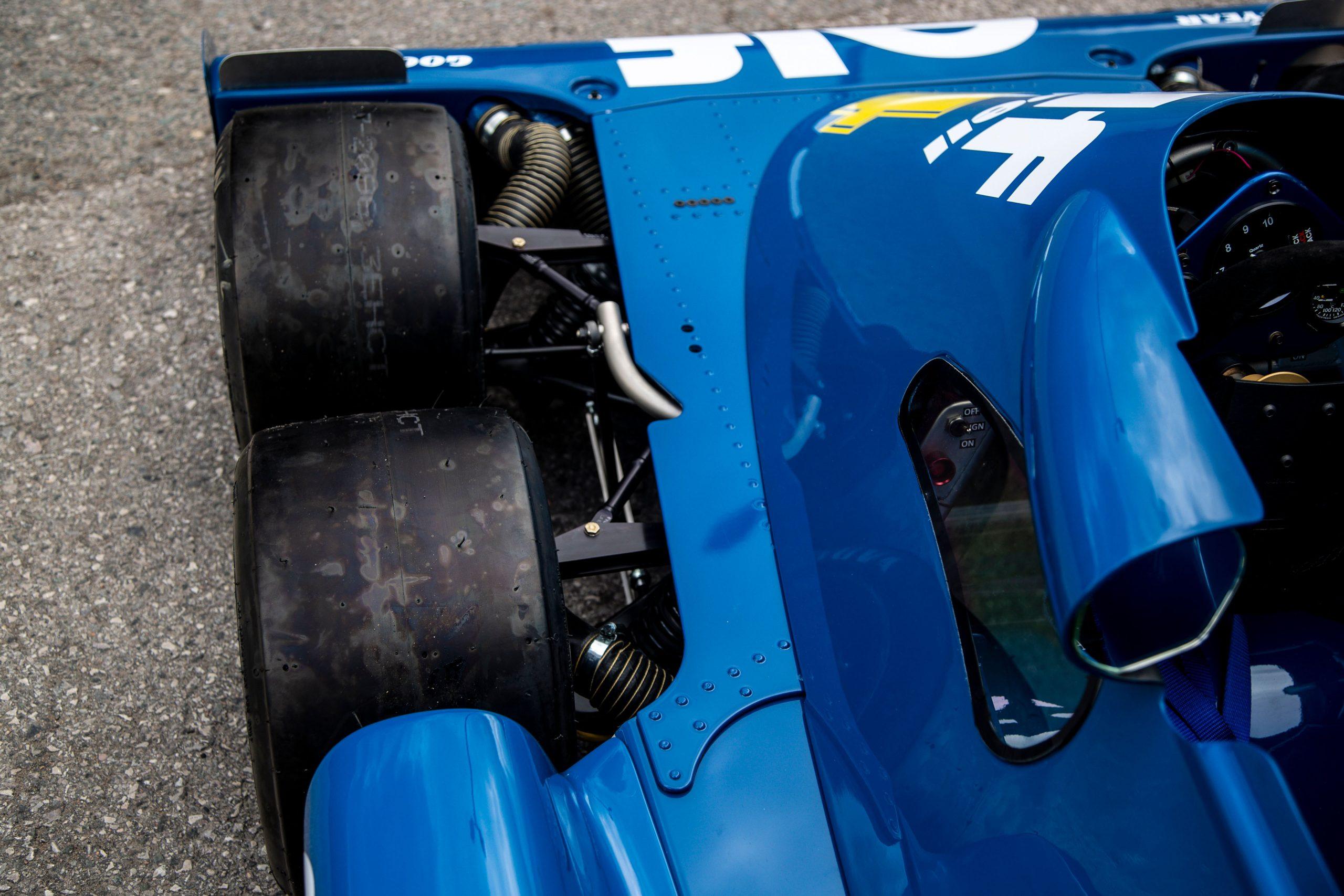 1976 TYRRELL P34 Continuation wheels