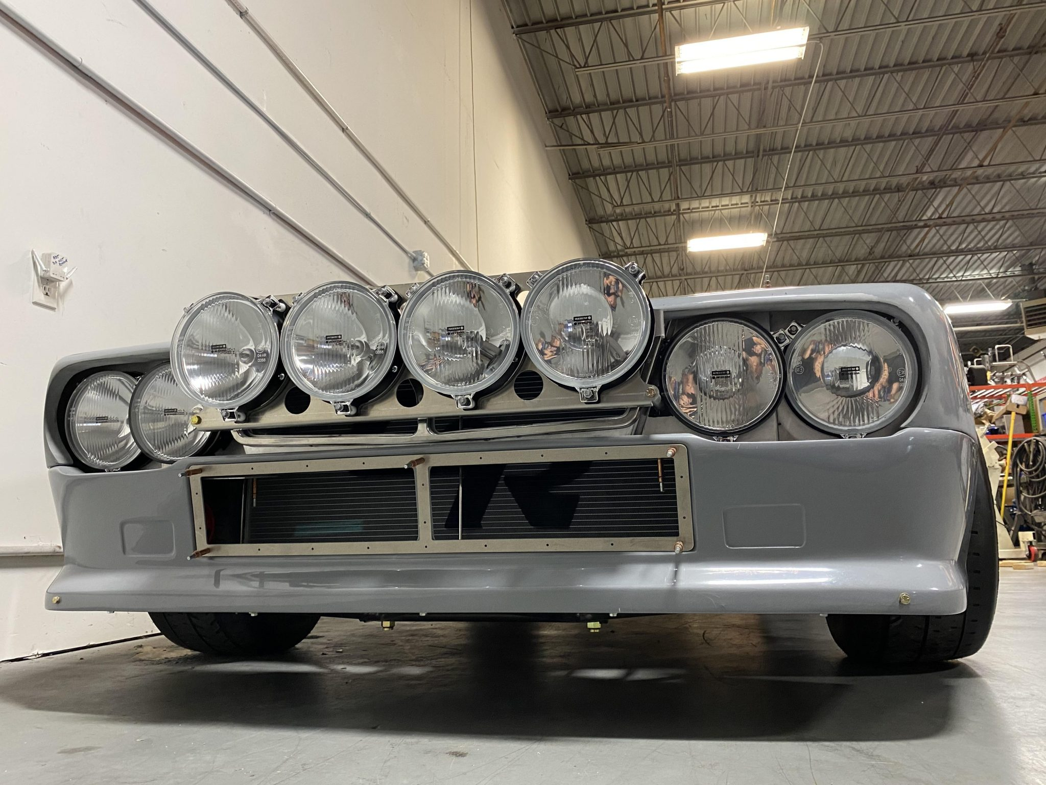 1977 Lancia 037 Tribute front lights