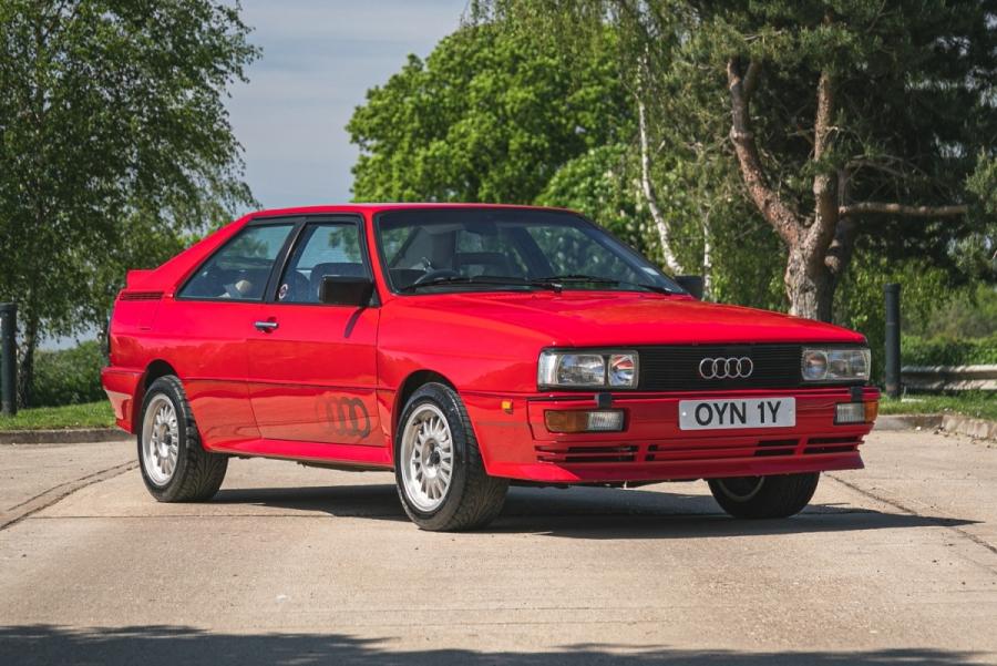 1982 Audi Quattro-Pre-Production Prototype