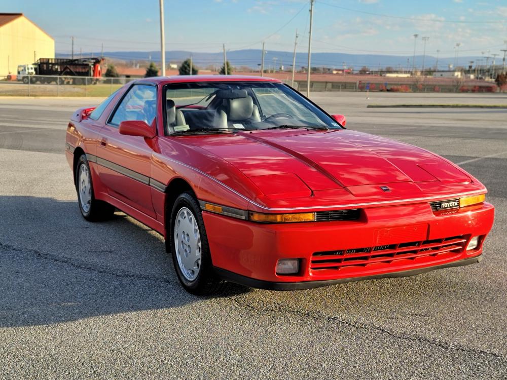 1989 Supra 5 Speed front three-quarter