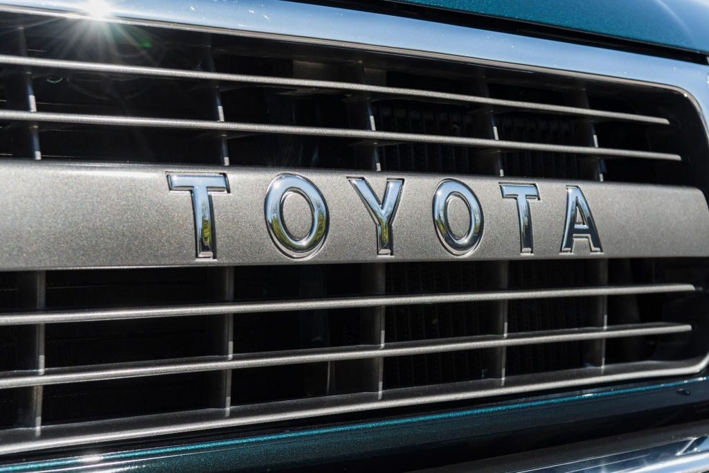 1994 Toyota Land Cruiser FZJ80 grille