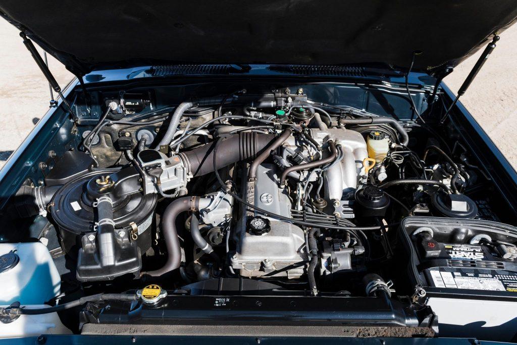 1994 Toyota Land Cruiser FZJ80 engine