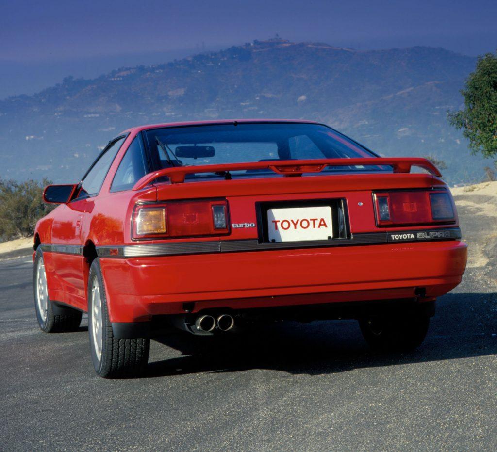 Toyota Supra rear three-quarter