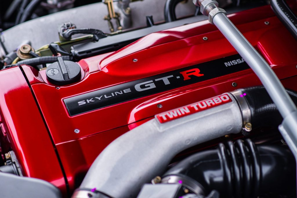1999 Nissan Skyline GT-R V-Spec engine