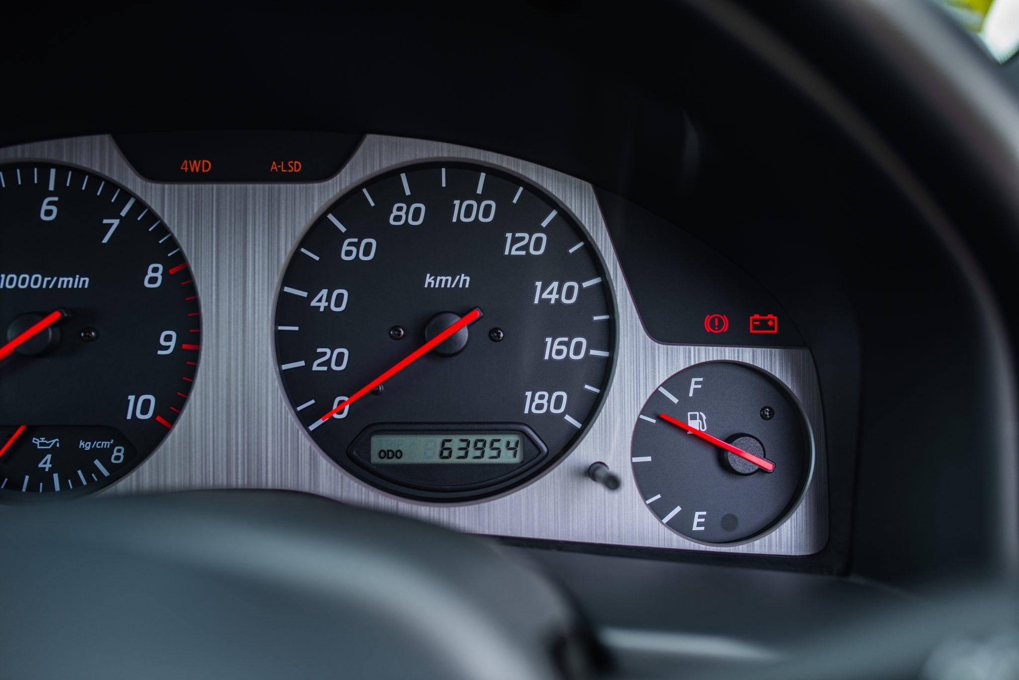 1999 Nissan Skyline GT-R V-Spec speedometer