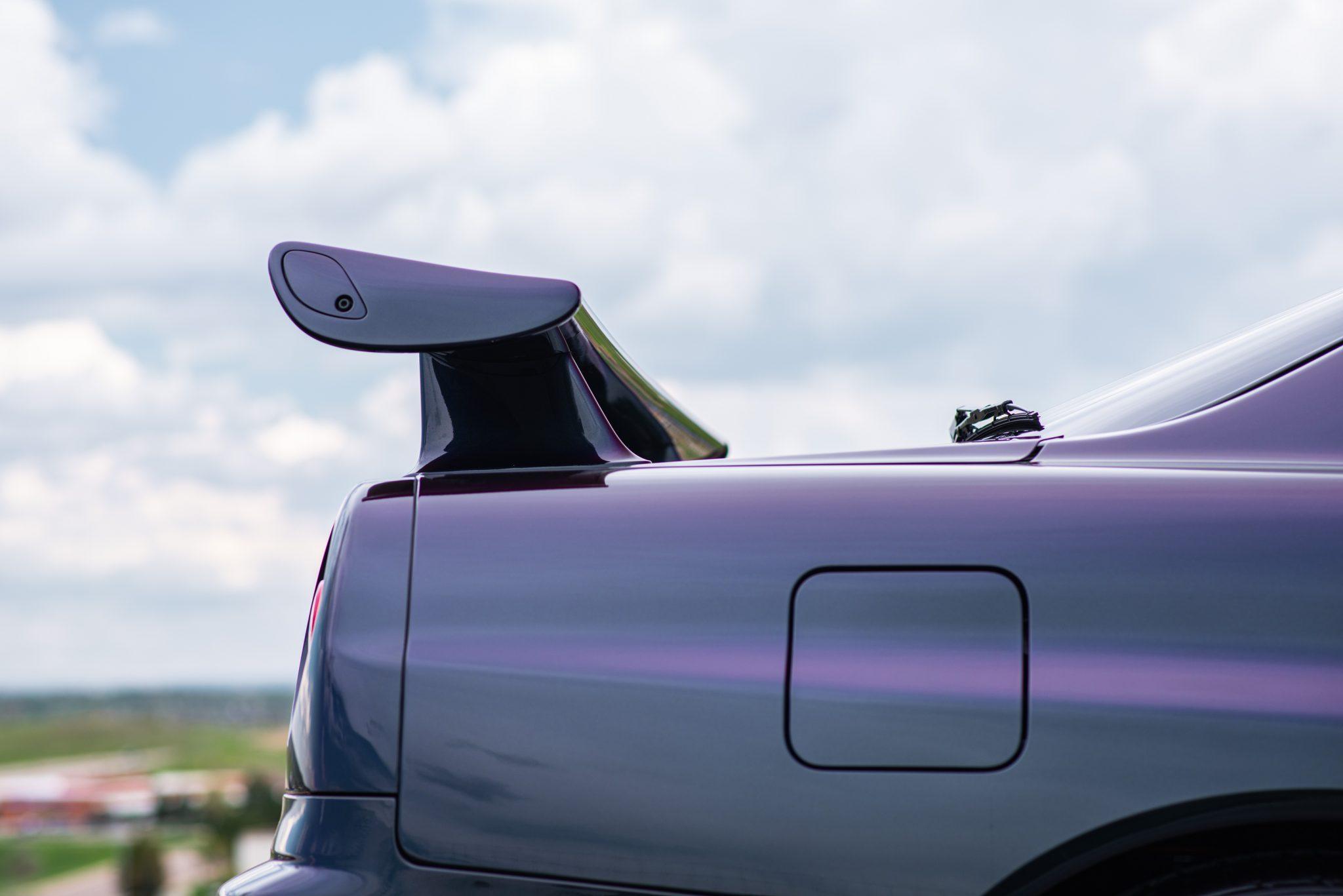 1999 Nissan Skyline GT-R V-Spec rear wing