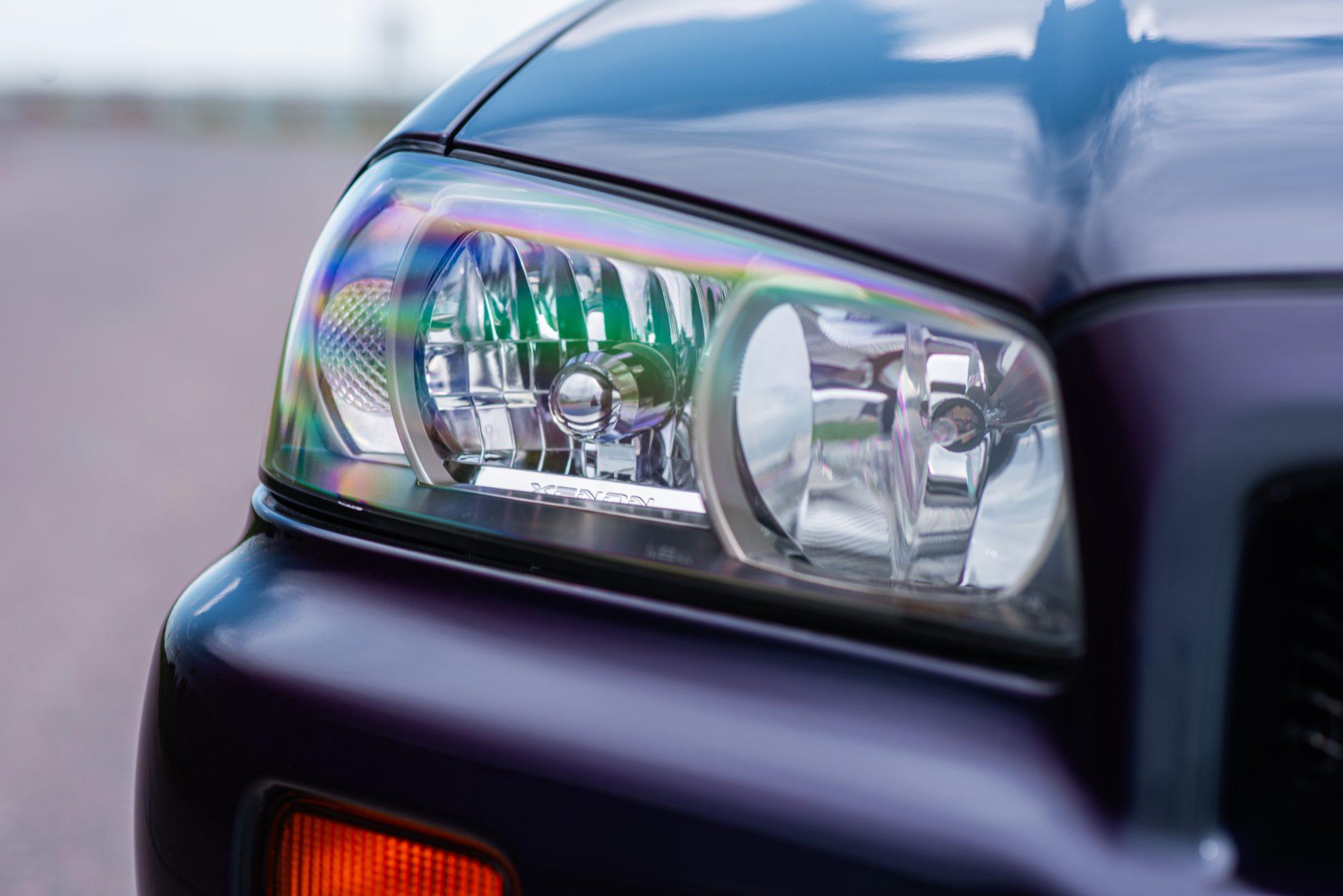 1999 Nissan Skyline GT-R V-Spec headlight detail