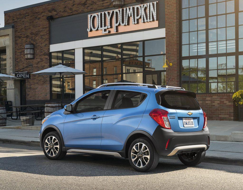 The 2017 Chevrolet Spark ACTIV