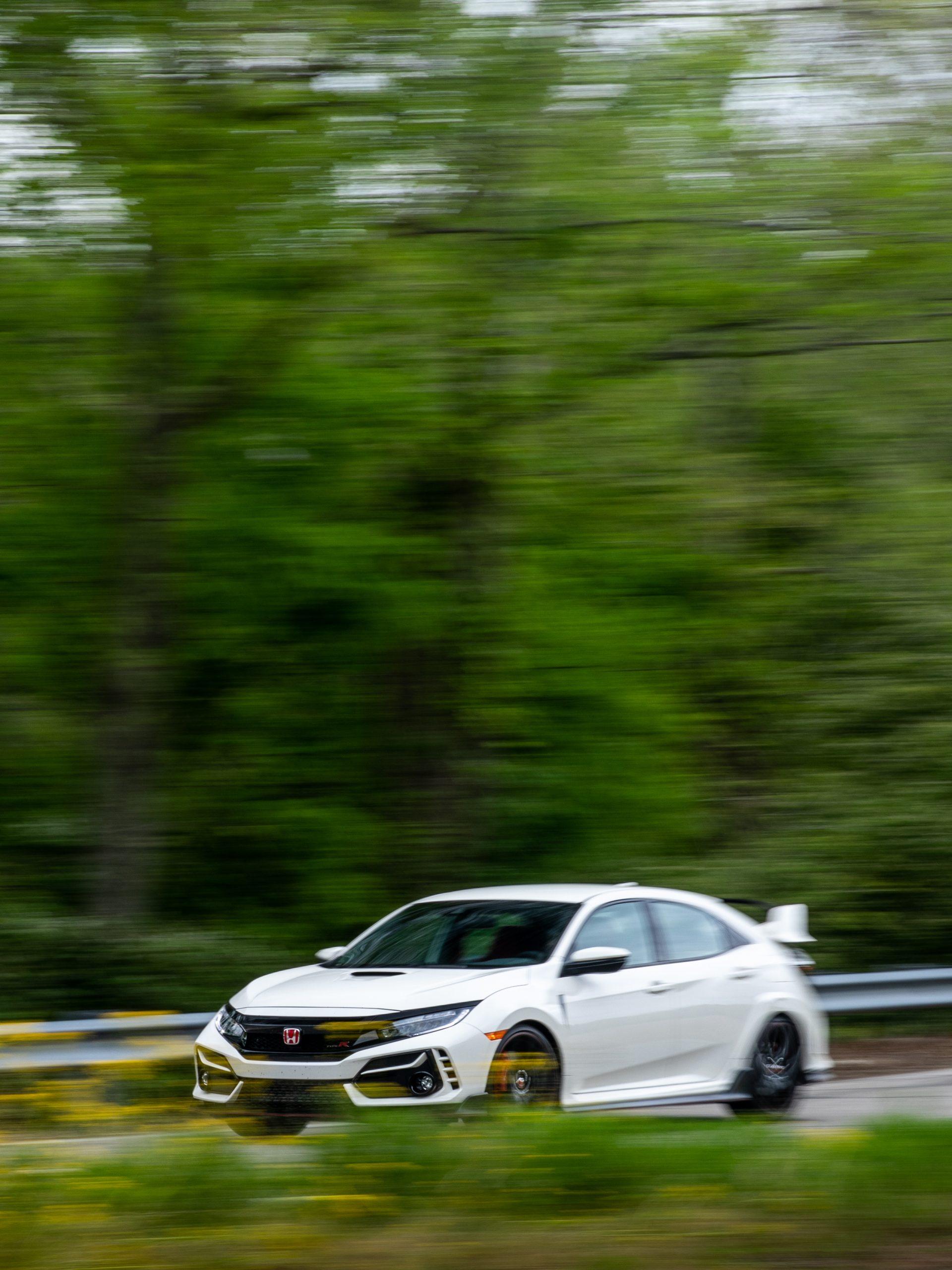 2020 Honda Civic Type R front three-quarter vertical