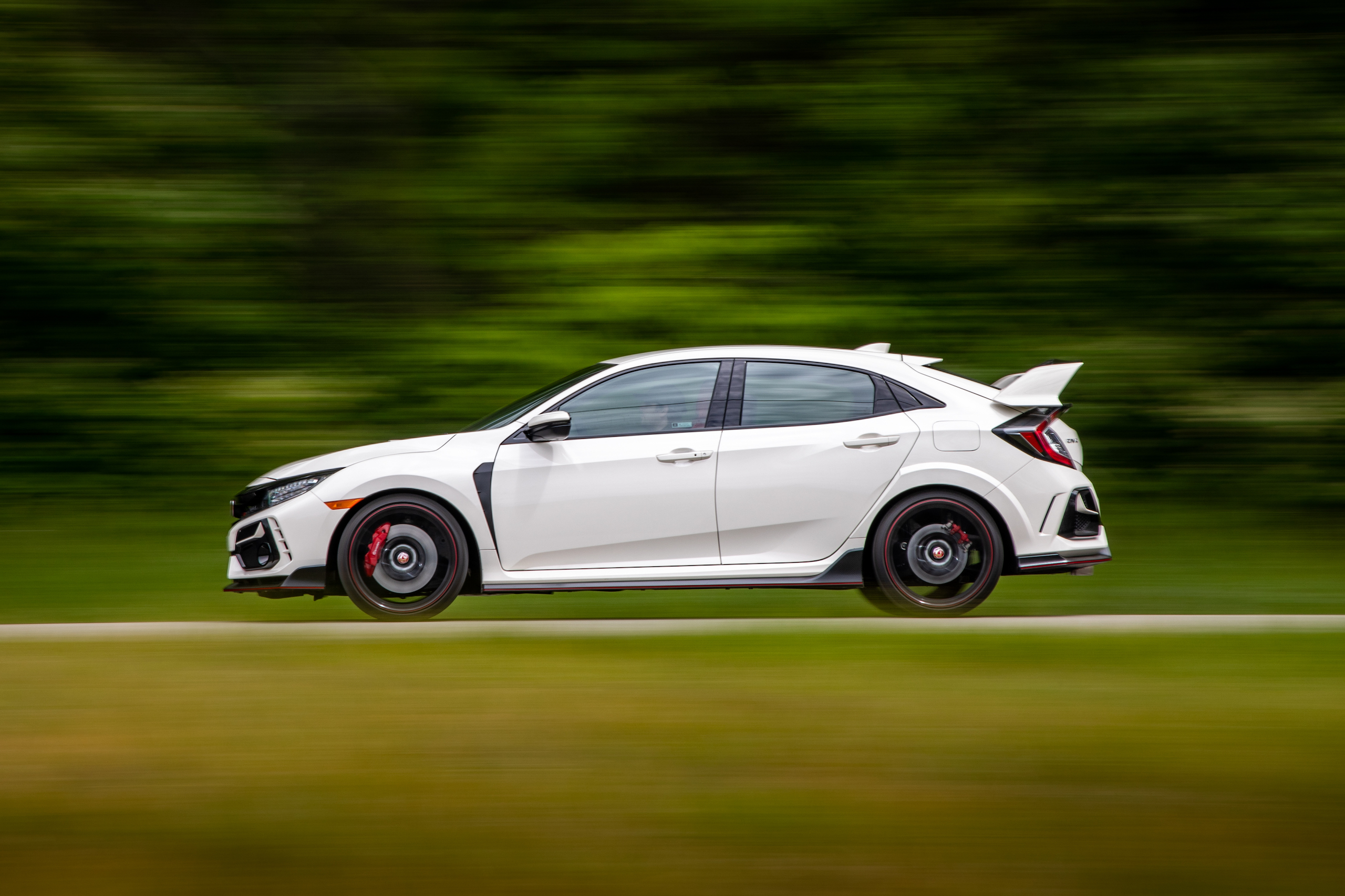 2020 Honda Civic Type R side profile action