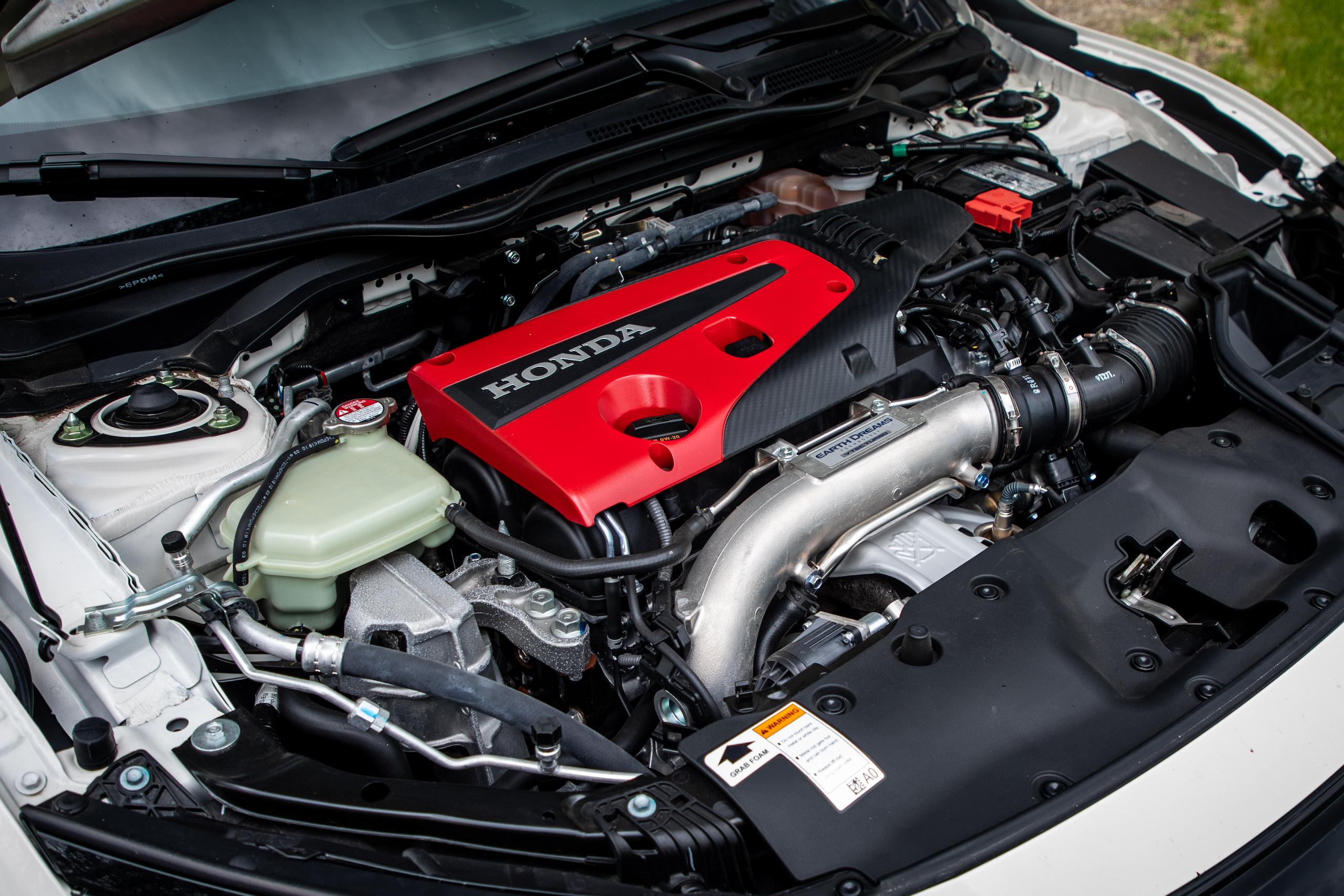 2020 Honda Civic Type R engine detail
