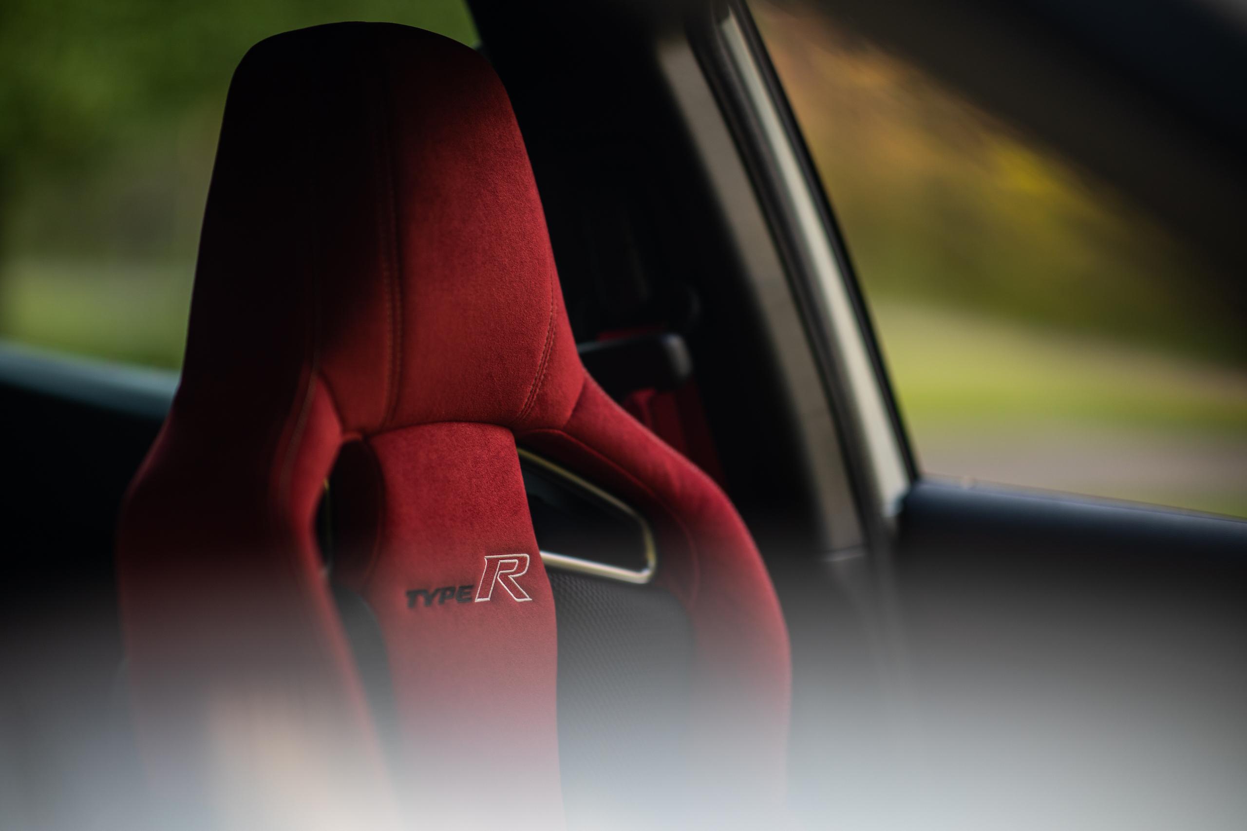 2020 Honda Civic Type R interior seat detail