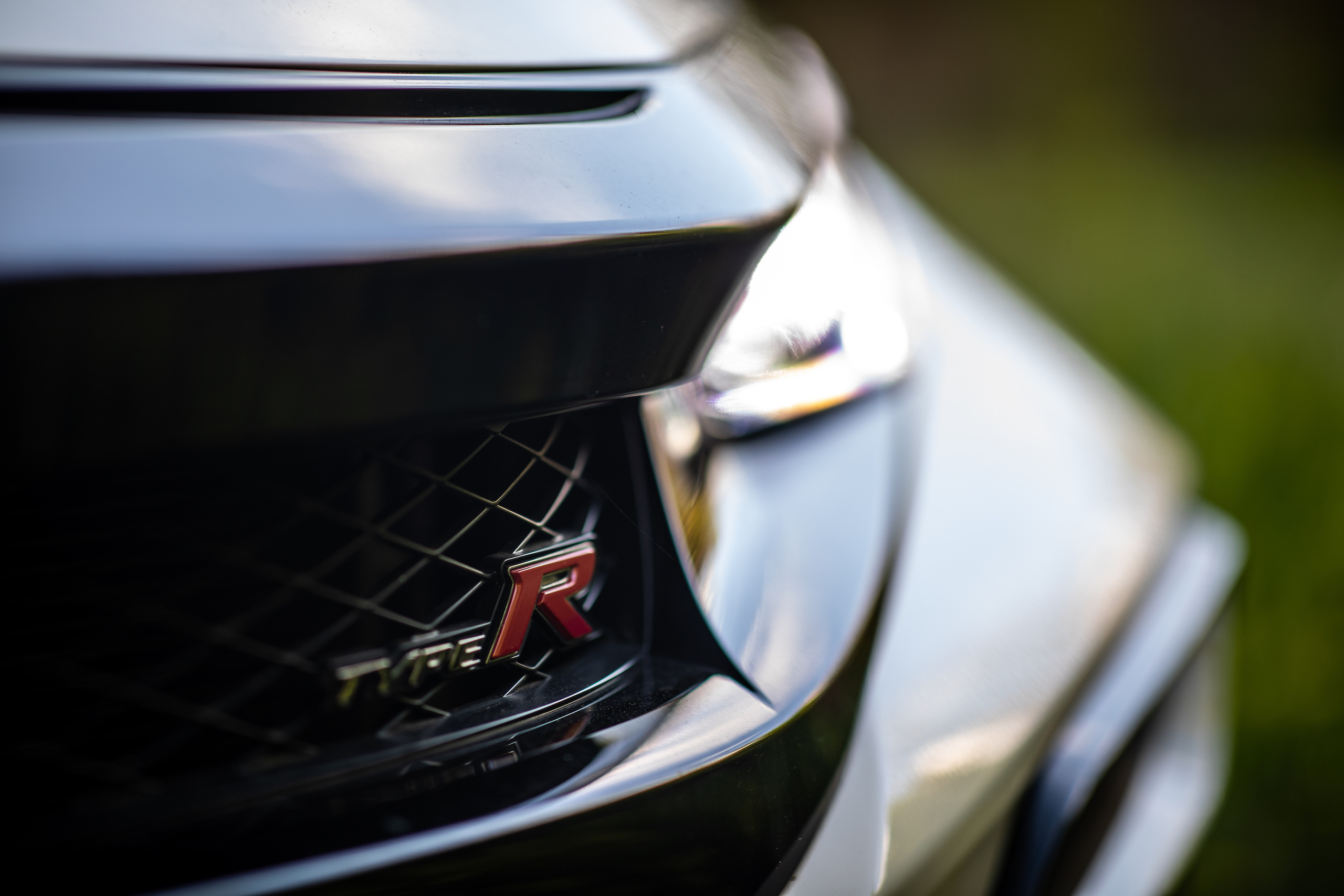 2020 Honda Civic Type R front grille detail