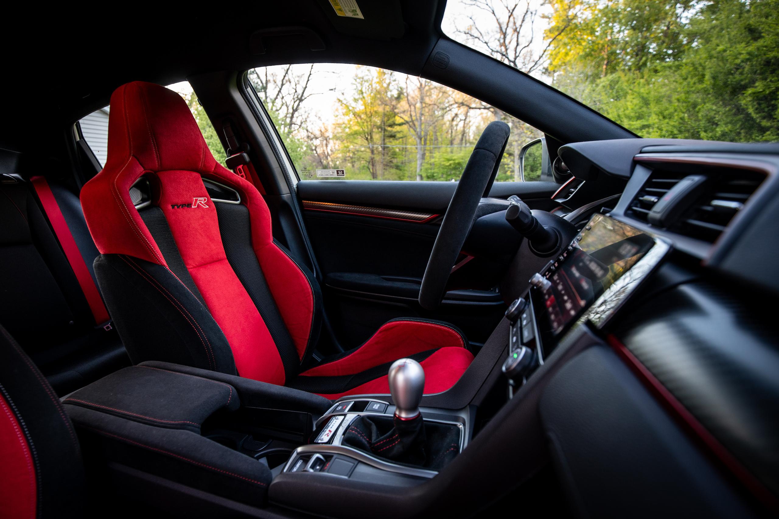 2020 Honda Civic Type R interior