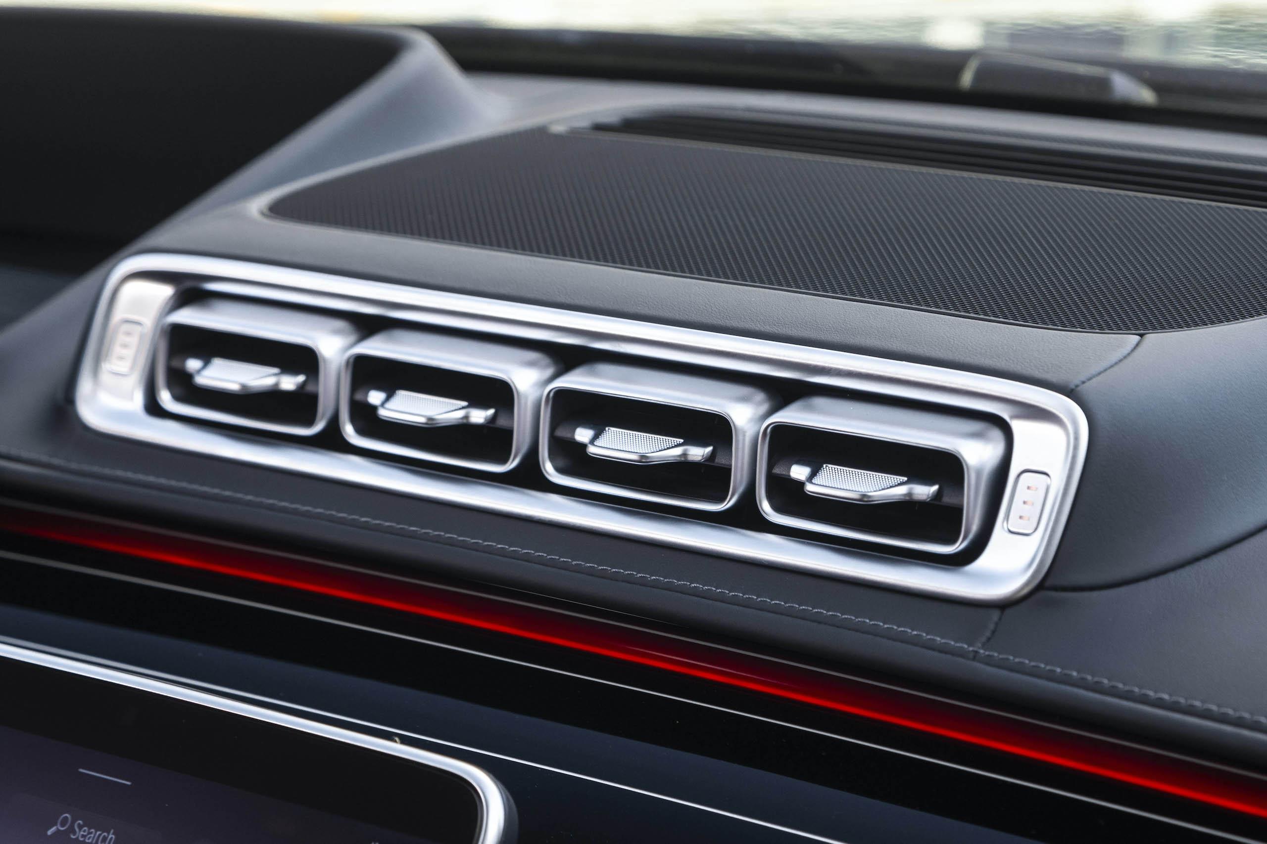 Mercedes Benz-S-Class interior dash vents