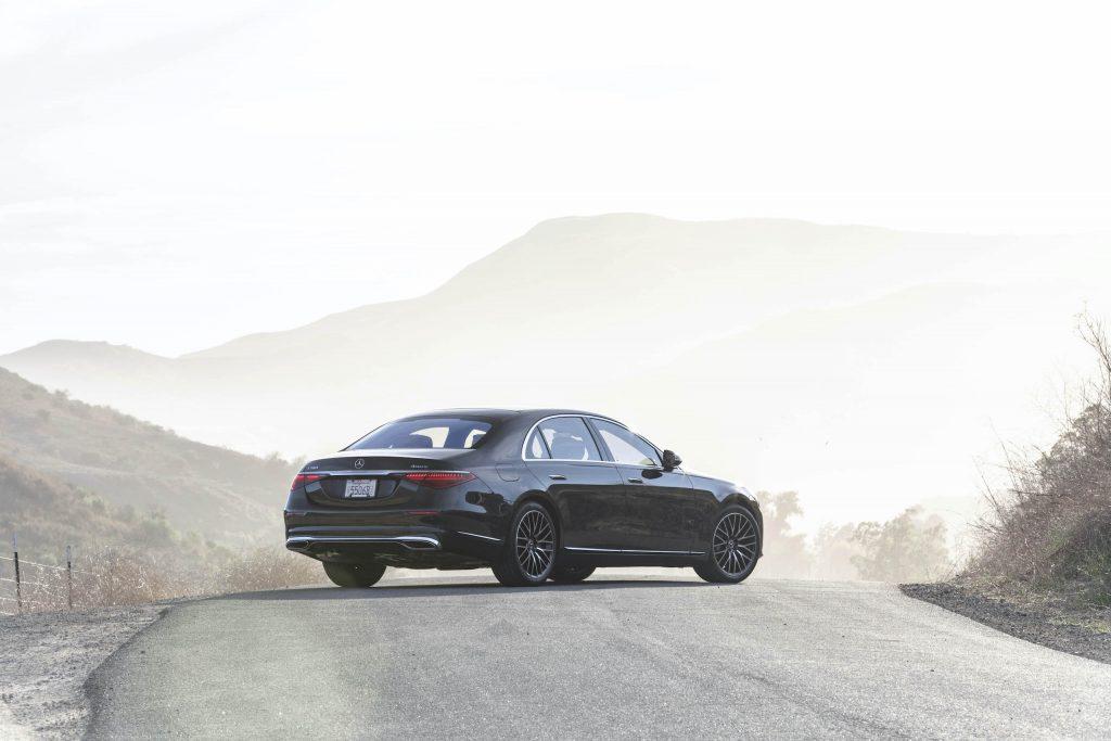 Mercedes Benz-S-Class rear three-quarter