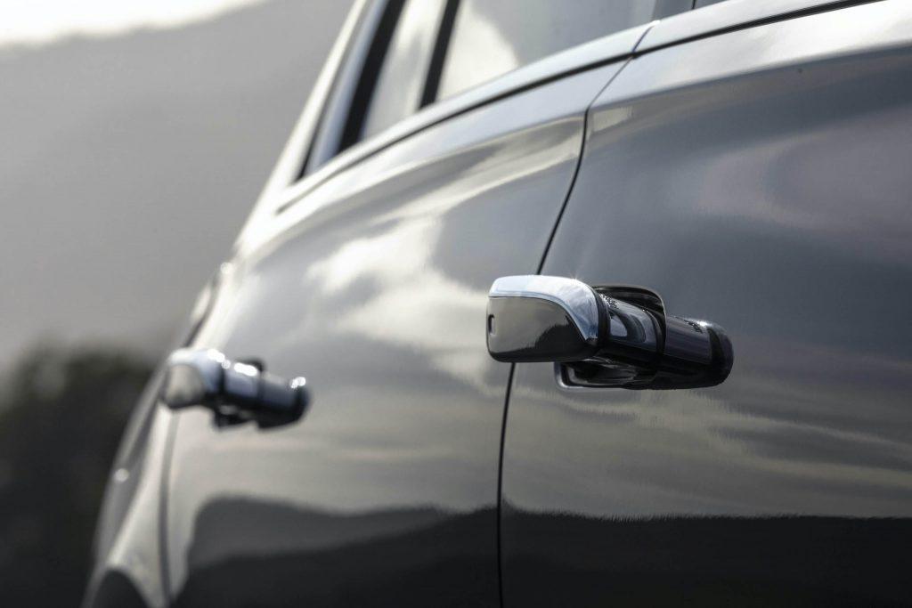Mercedes Benz-S-Class door handle extension