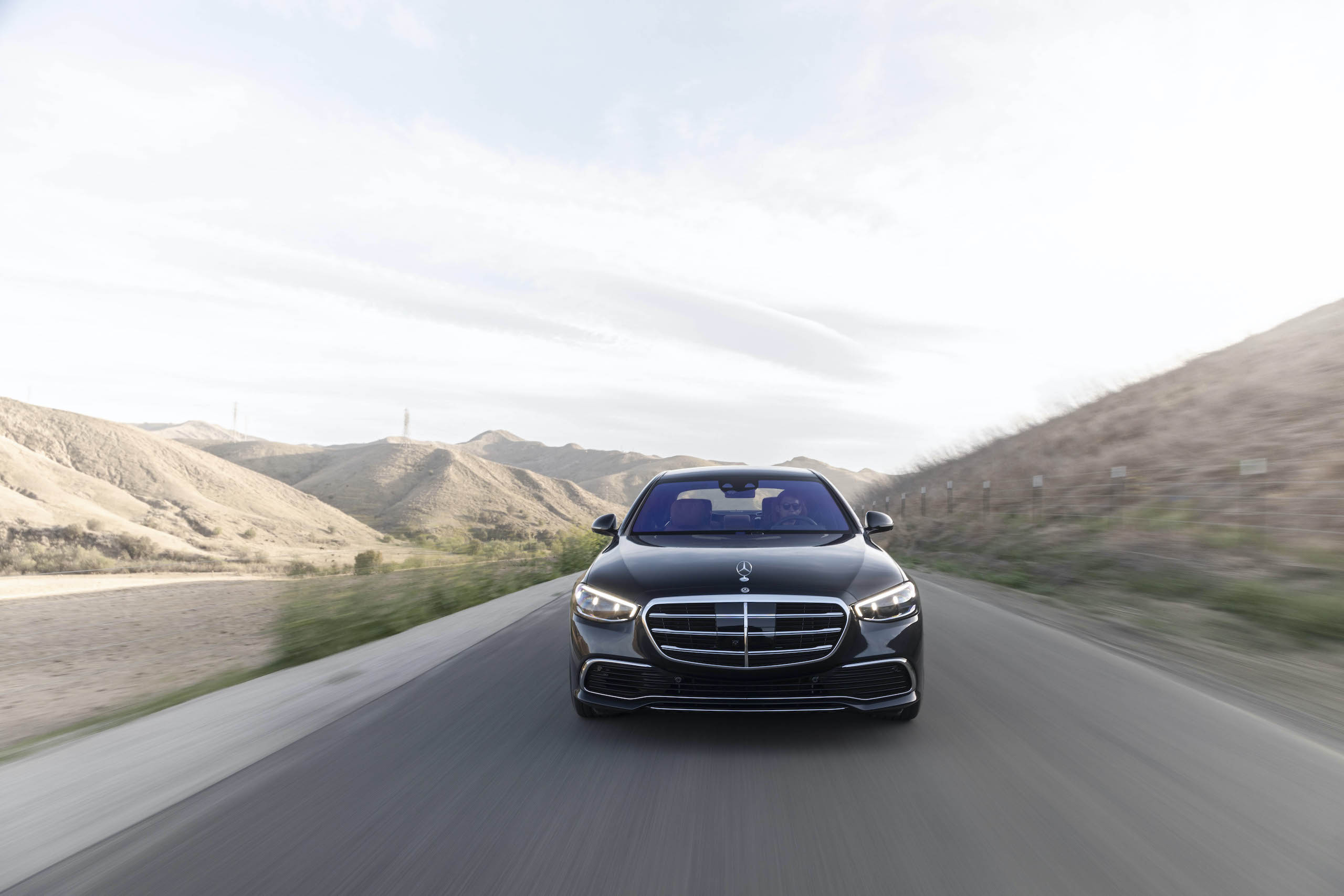 Mercedes Benz-S-Class front action