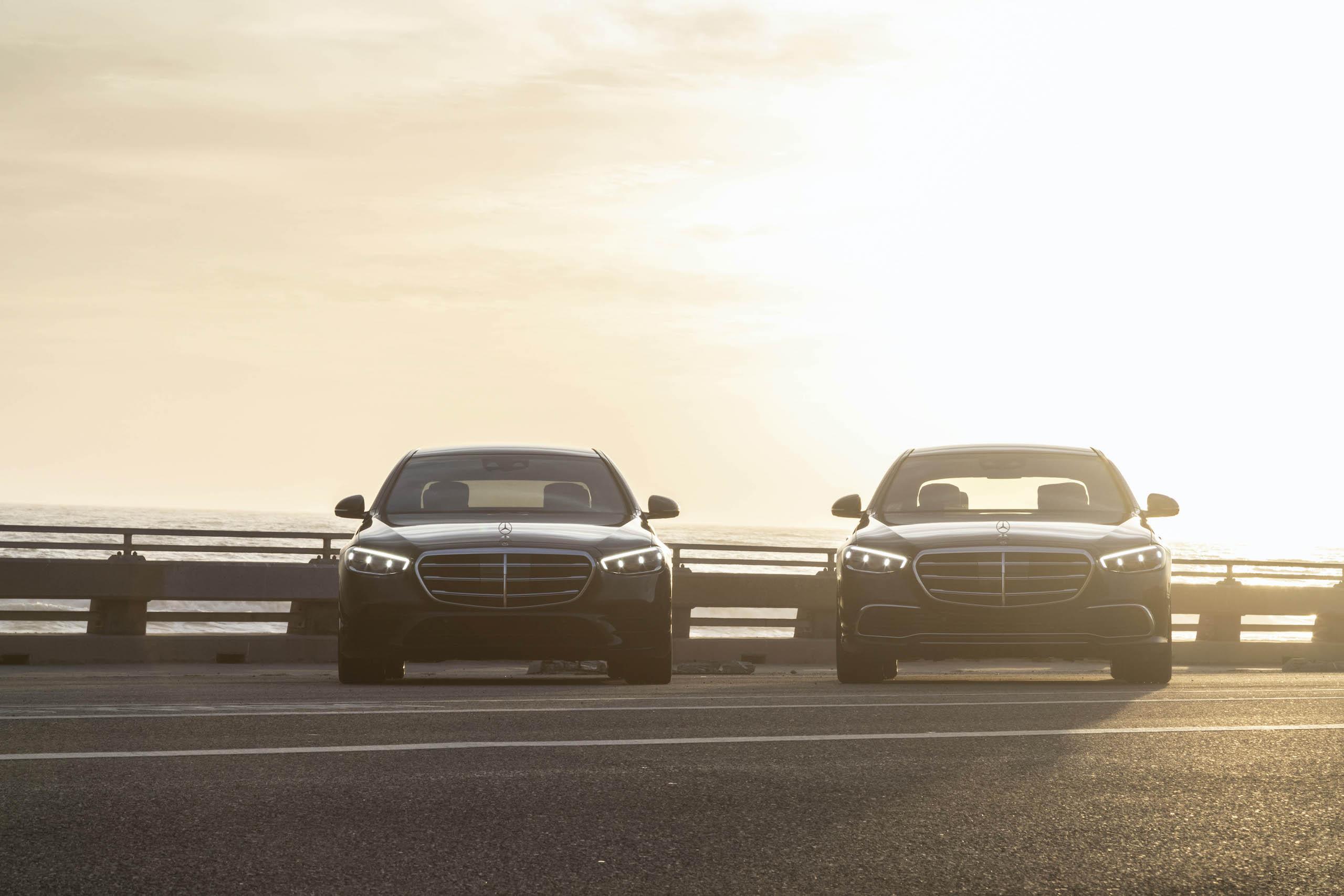 Mercedes Benz-S-Class fronts