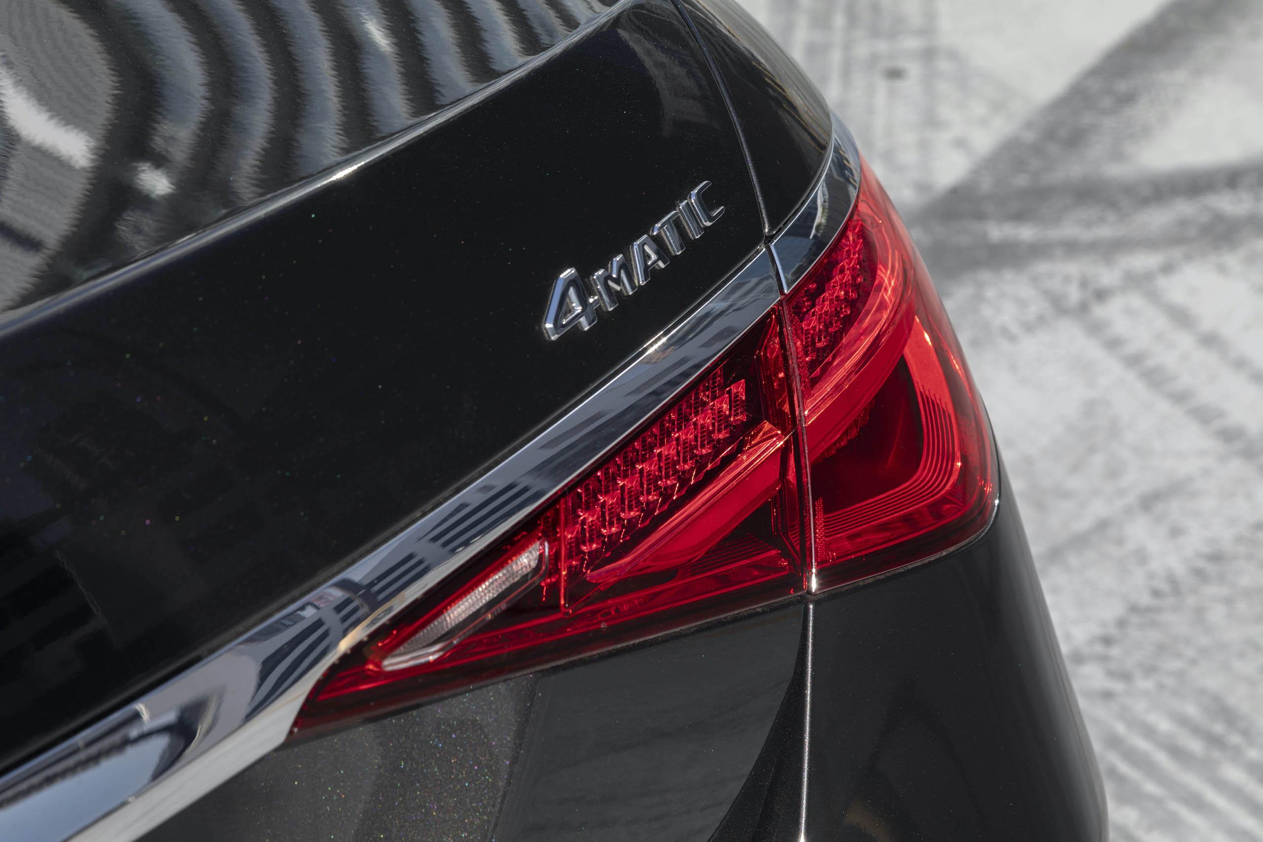 Mercedes Benz-S-Class rear 4matic badge