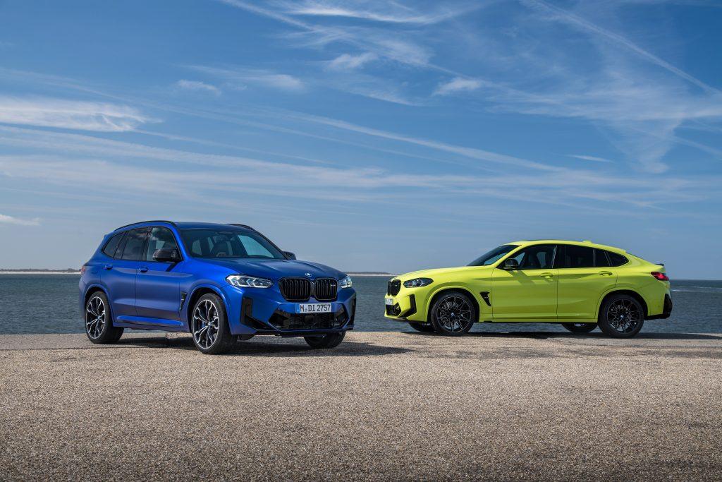 2022 BMW X3 M and X4 M updates