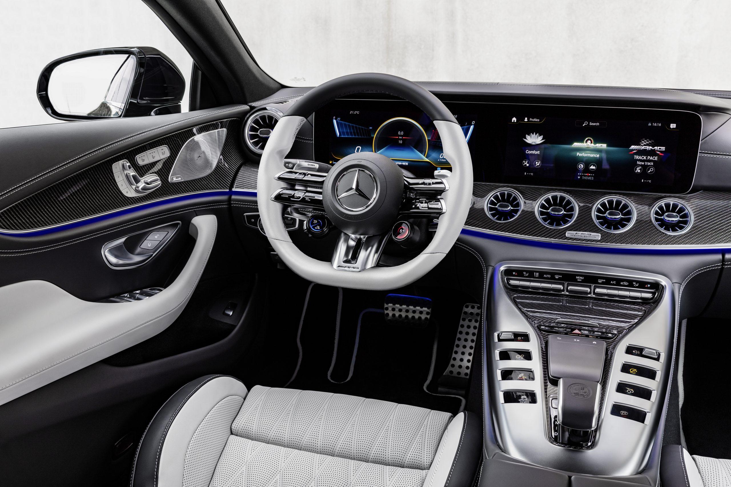 The new AMG GT 4-Door